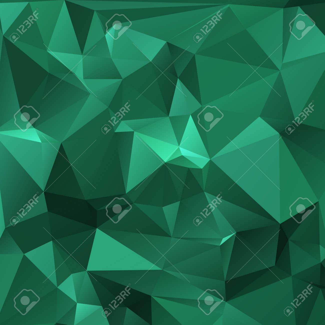 47450471 nette dunkelgr%C3%BCne tapete mit dreieckigen muster - Dunkelgrune Tapete