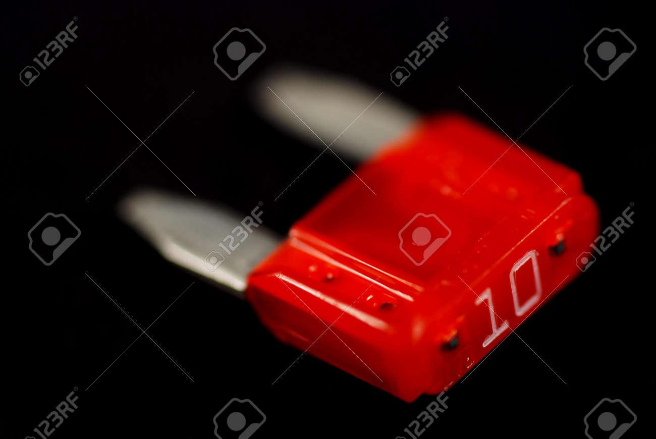 Foto S Van 10 Ampa Re Elektrische Auto Zekeringen Gebruikt Voor