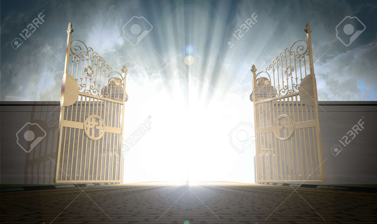 A Depiction Of The Pearly Gate...
