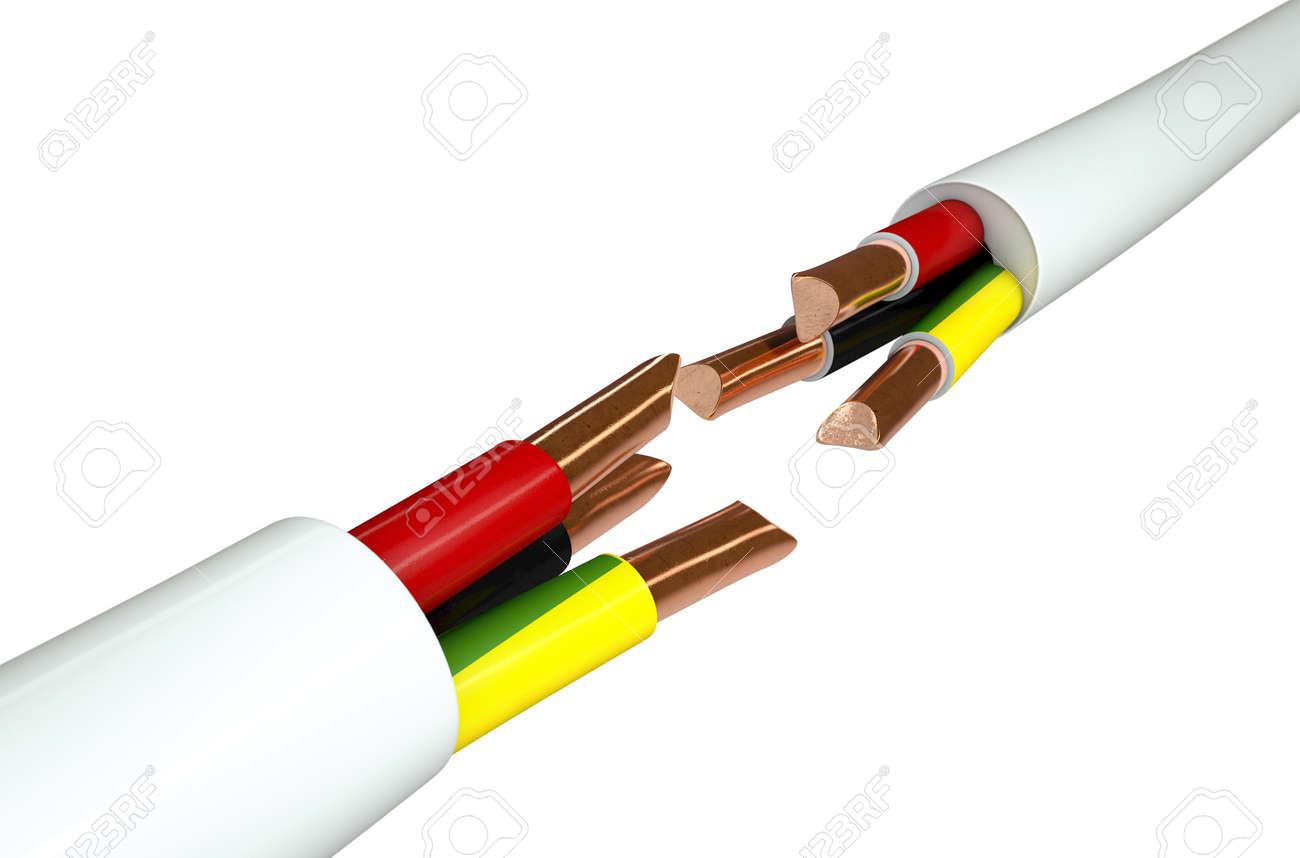 Ausgezeichnet Elektrische Kabel Zeitgenössisch - Der Schaltplan ...