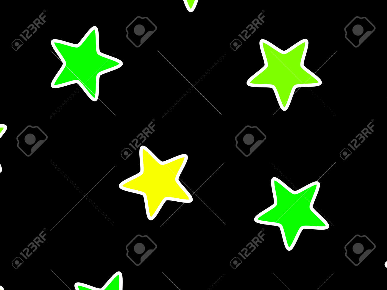 Abstract Pattern Containing Random Shapes For High Definition