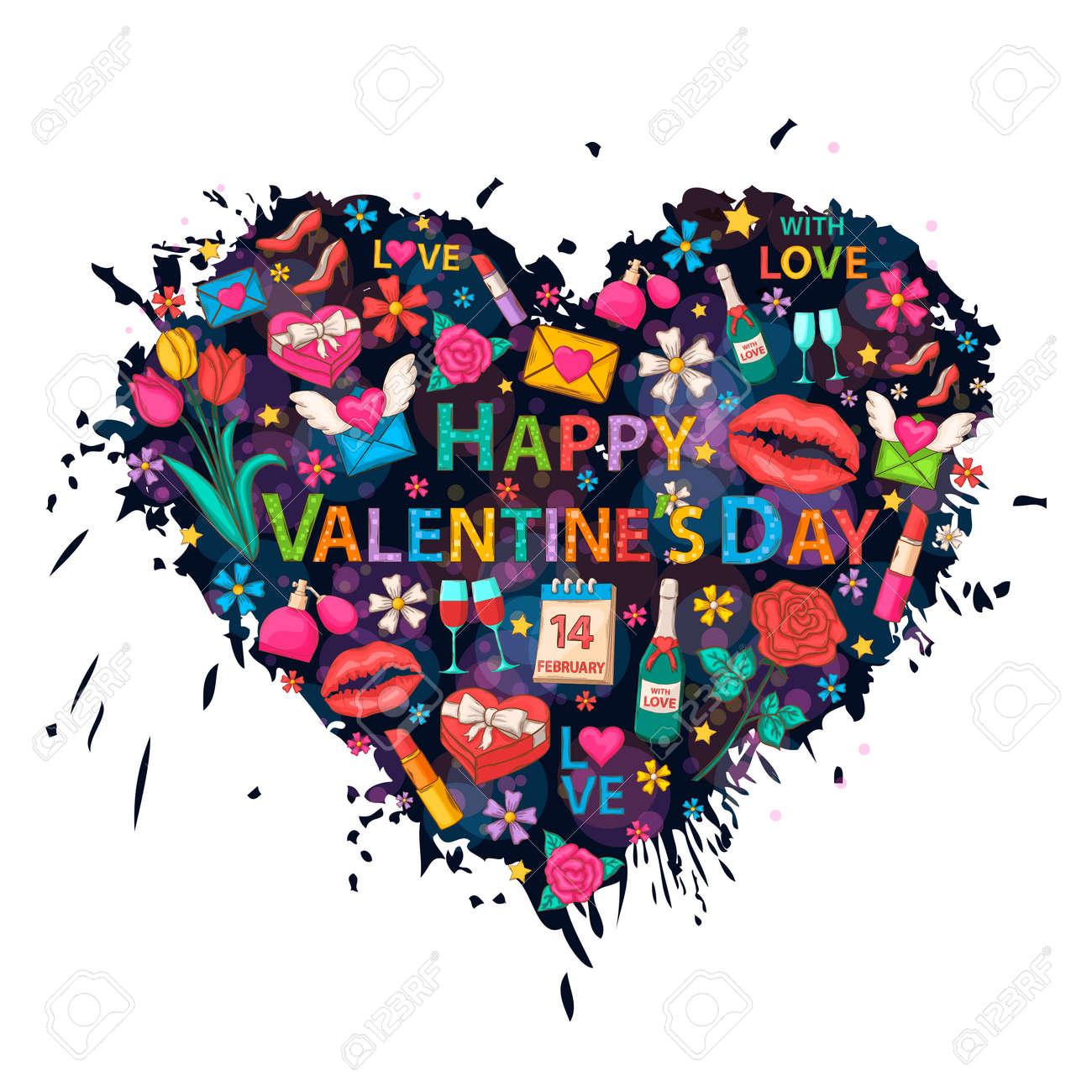 Happy Valentines Day Clip Art