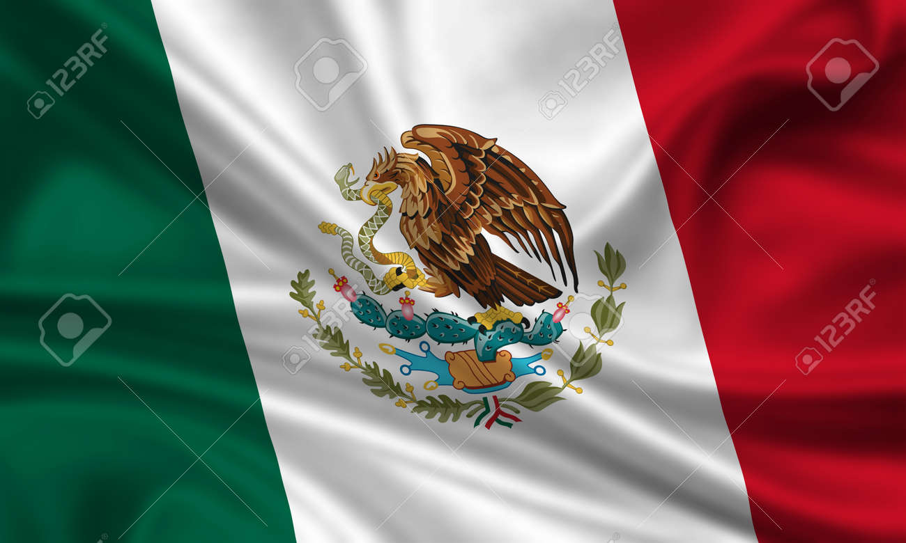 waving flag of mexico stock photo picture and royalty free image