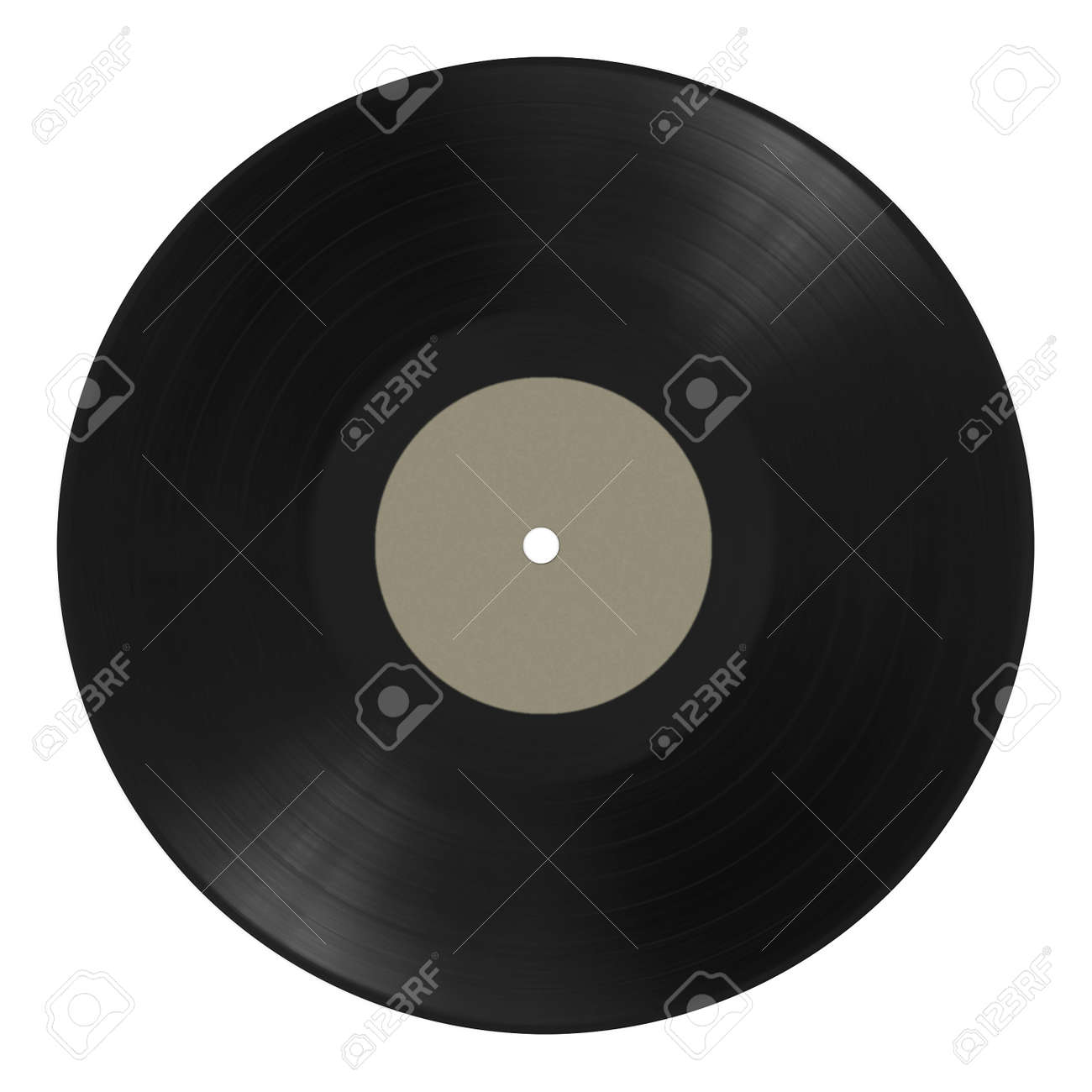 old vinyl music record isolated on white background Stock Photo - 15687870