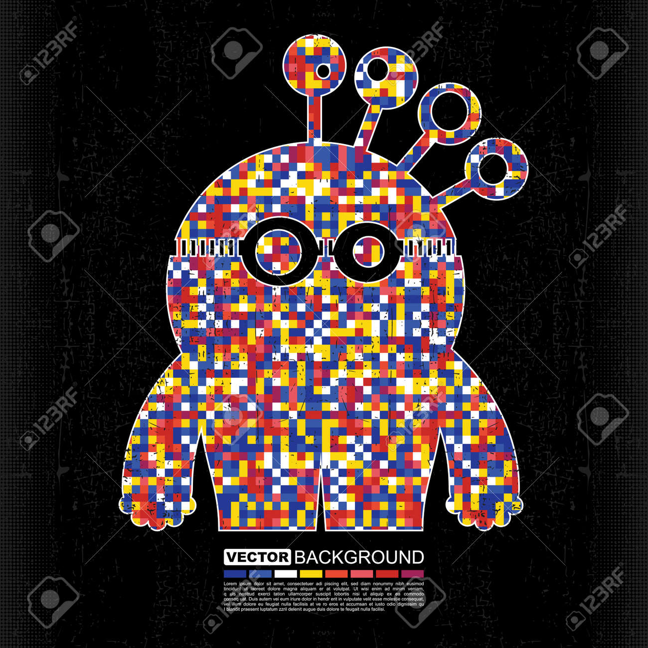 Monster Stock Vector - 14098643