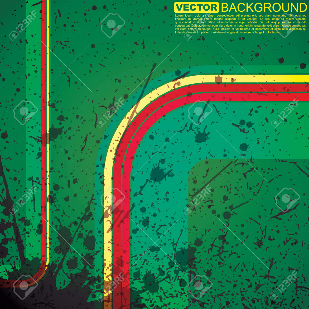Abstract grunge background Stock Vector - 15958015