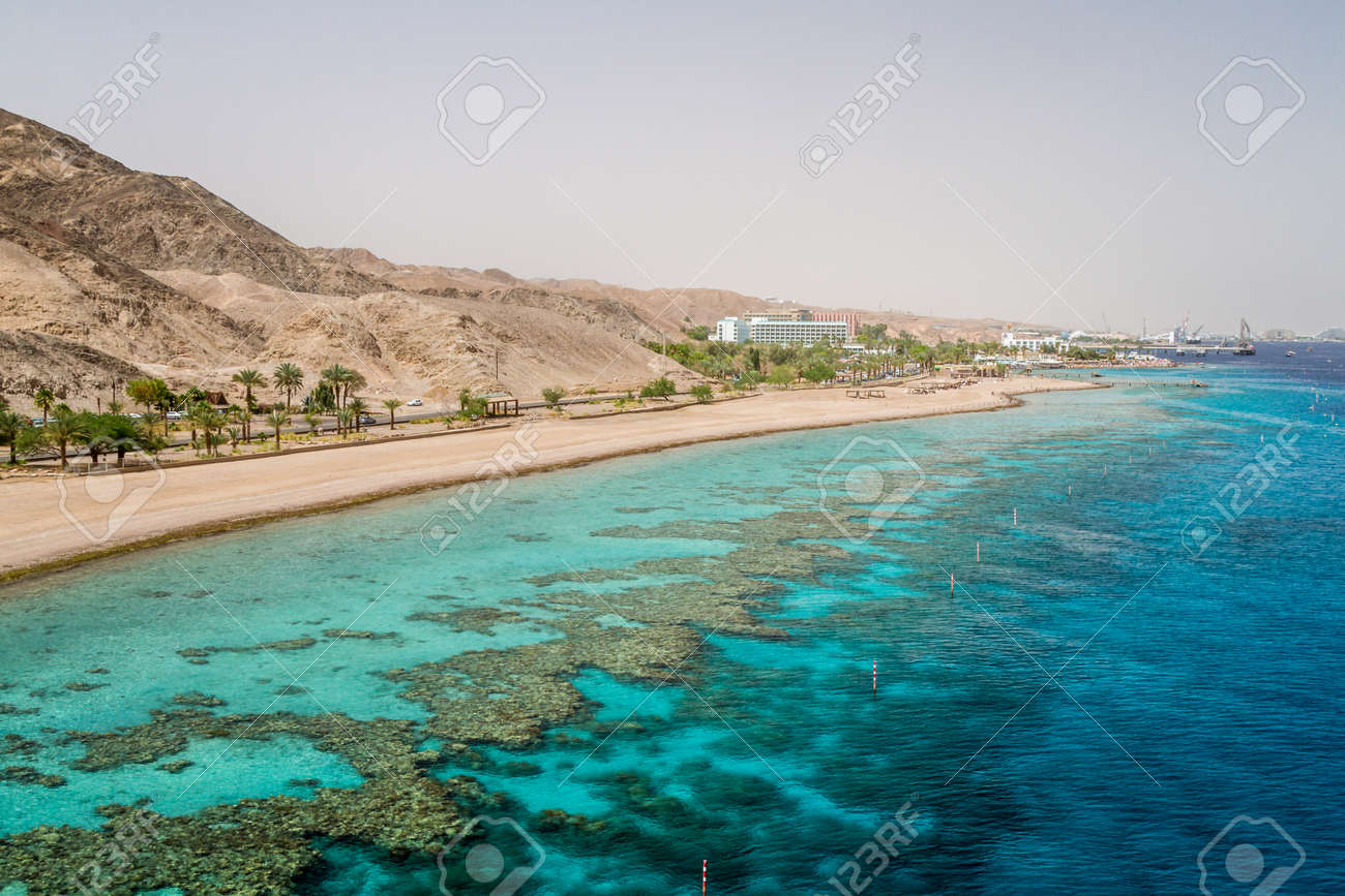 Eilat, Israel. Red sea