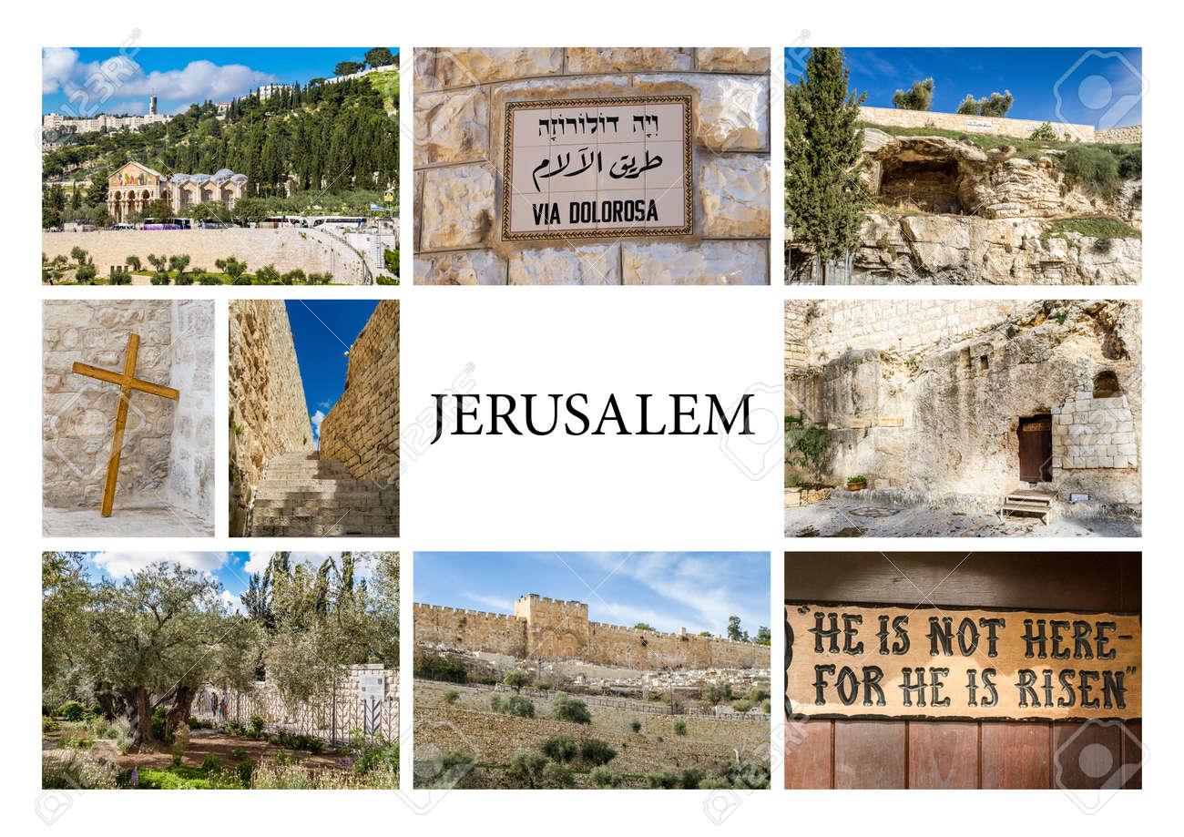 Reperes De Jerusalem Israel Serie De Photos Sont Les Miennes Banque D Images Et Photos Libres De Droits Image 54007843
