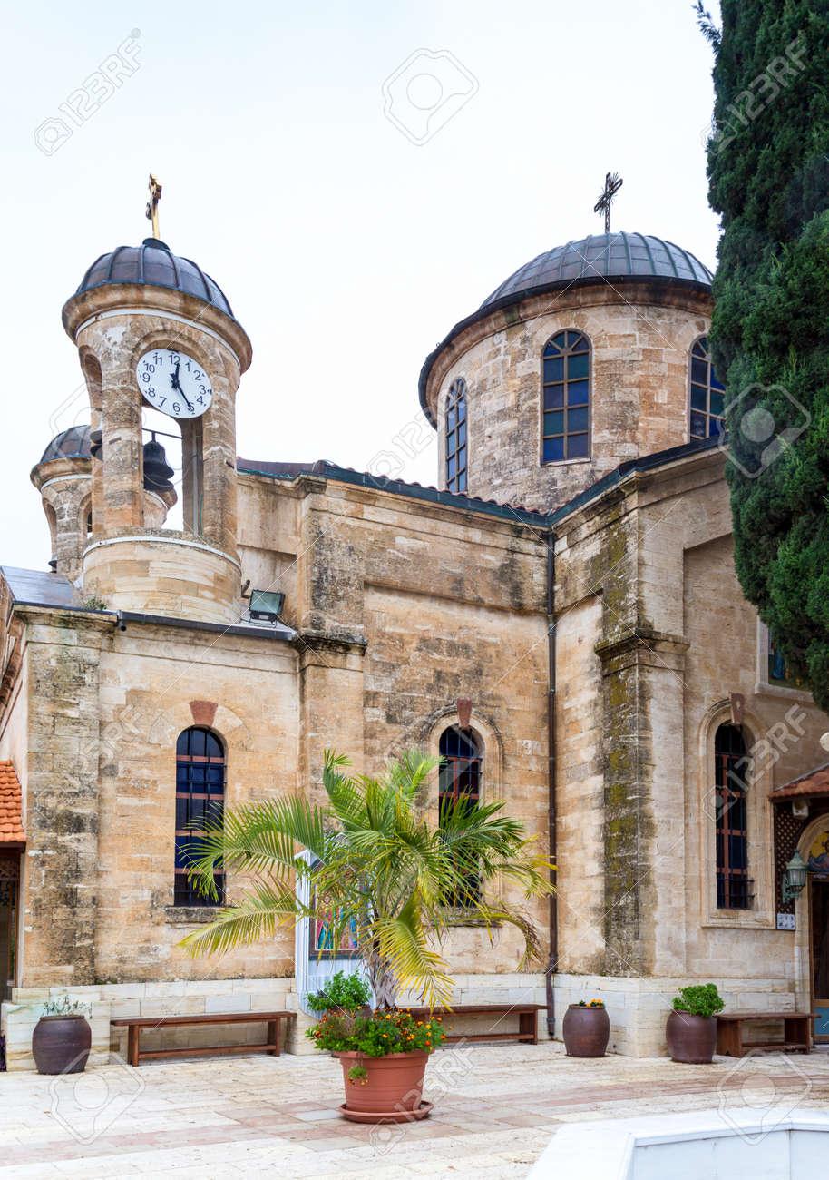 Die Cana Griechisch Orthodoxen Kirche Hochzeit In Kana In Galilaa
