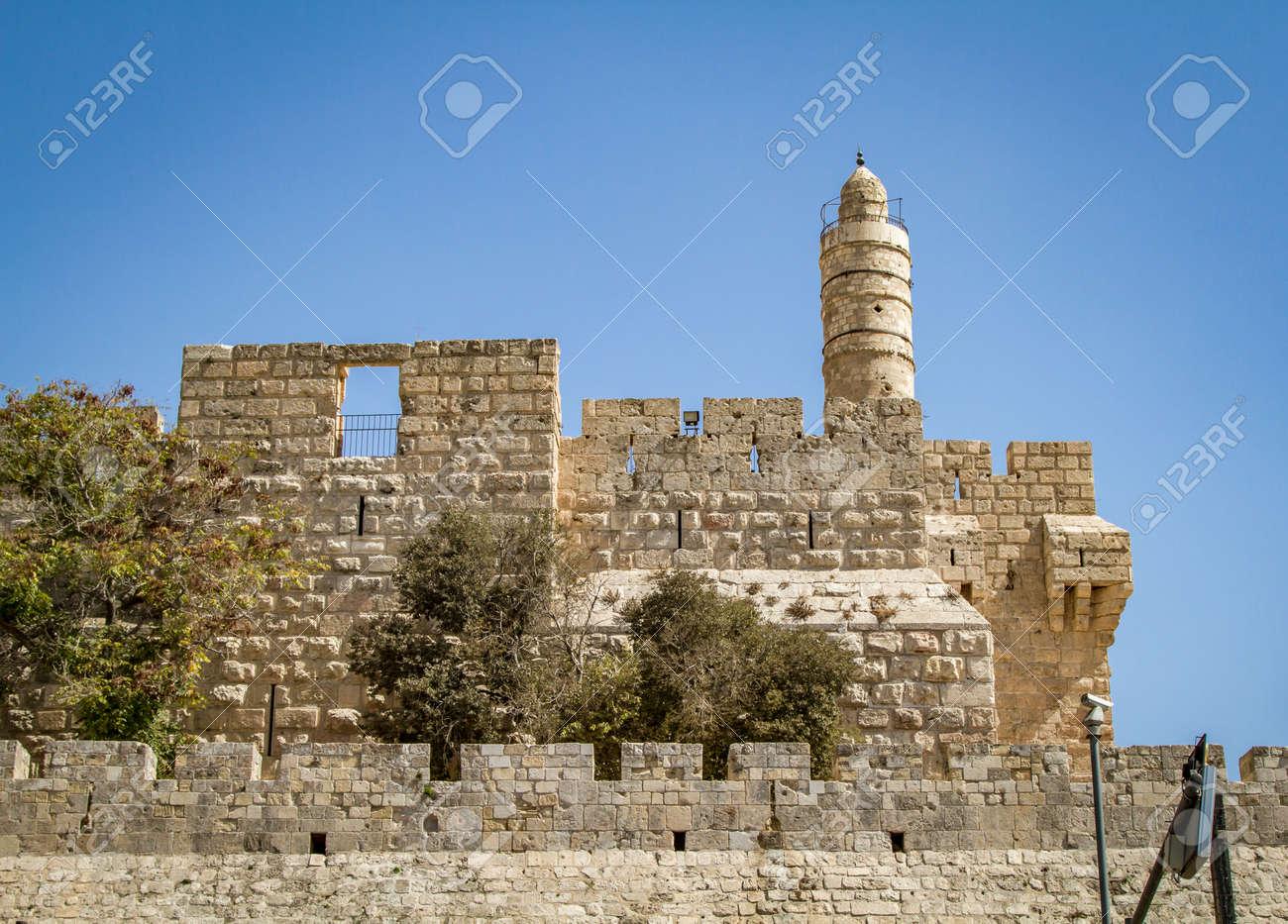 ダビデの塔、古代エルサレムの城...