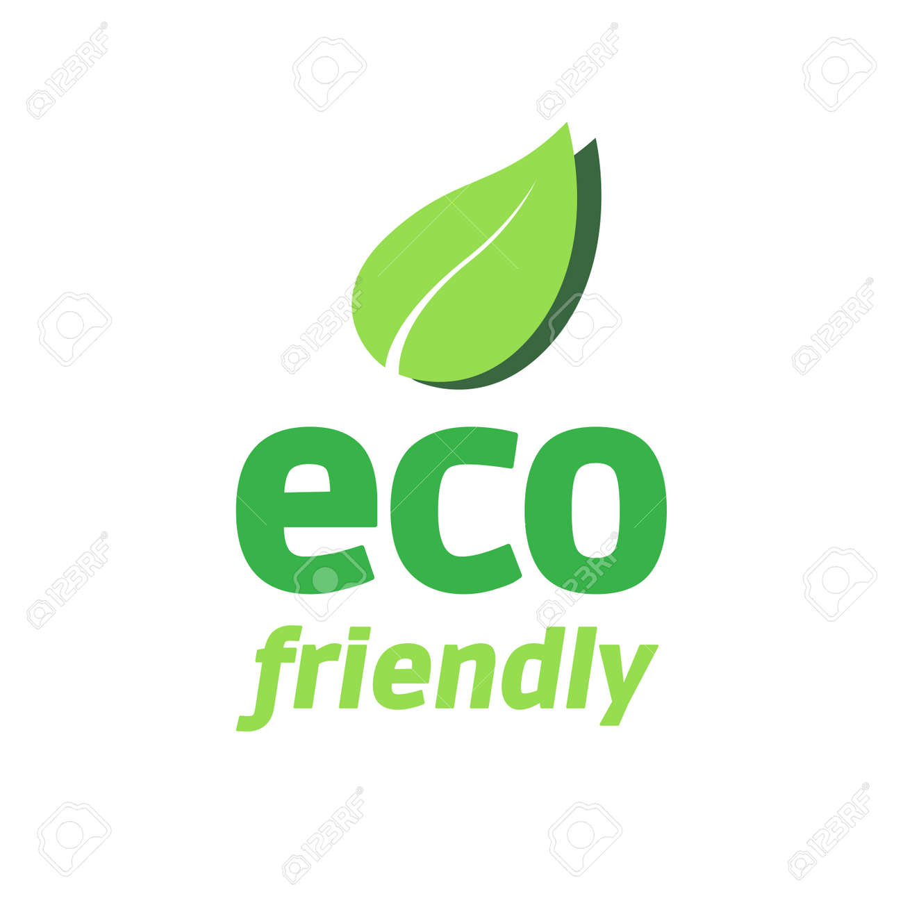 eco friendly logo royalty free cliparts vectors and stock