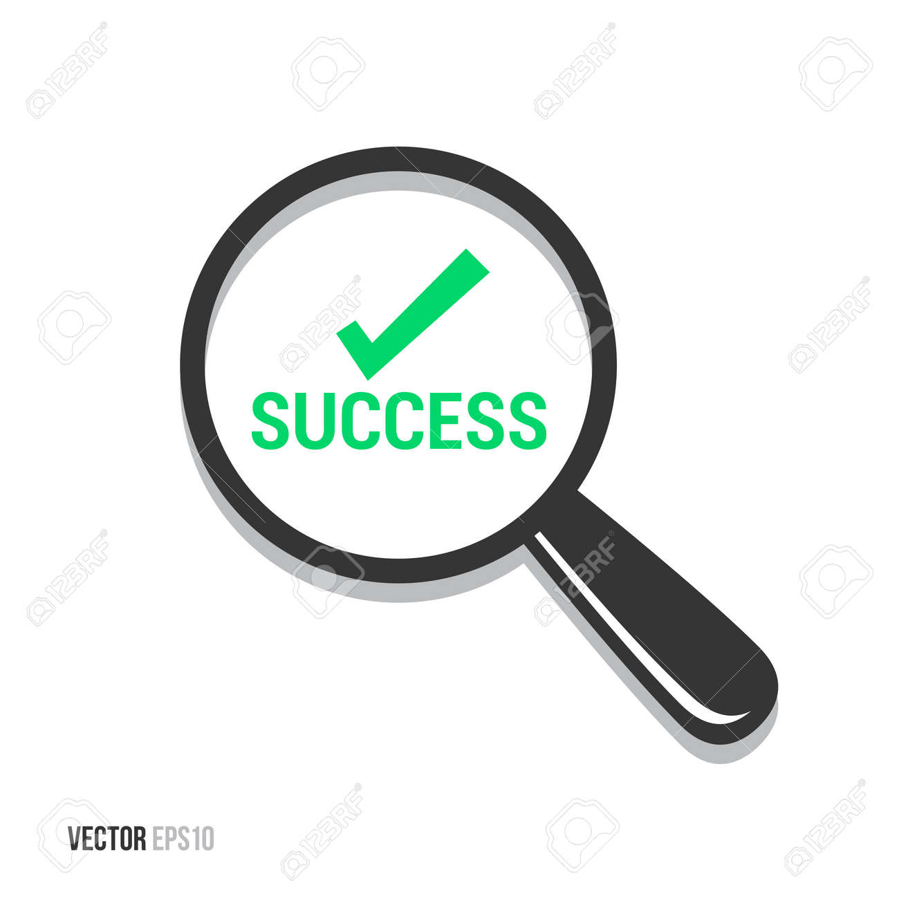 Success Magnifying Glass - 50699630
