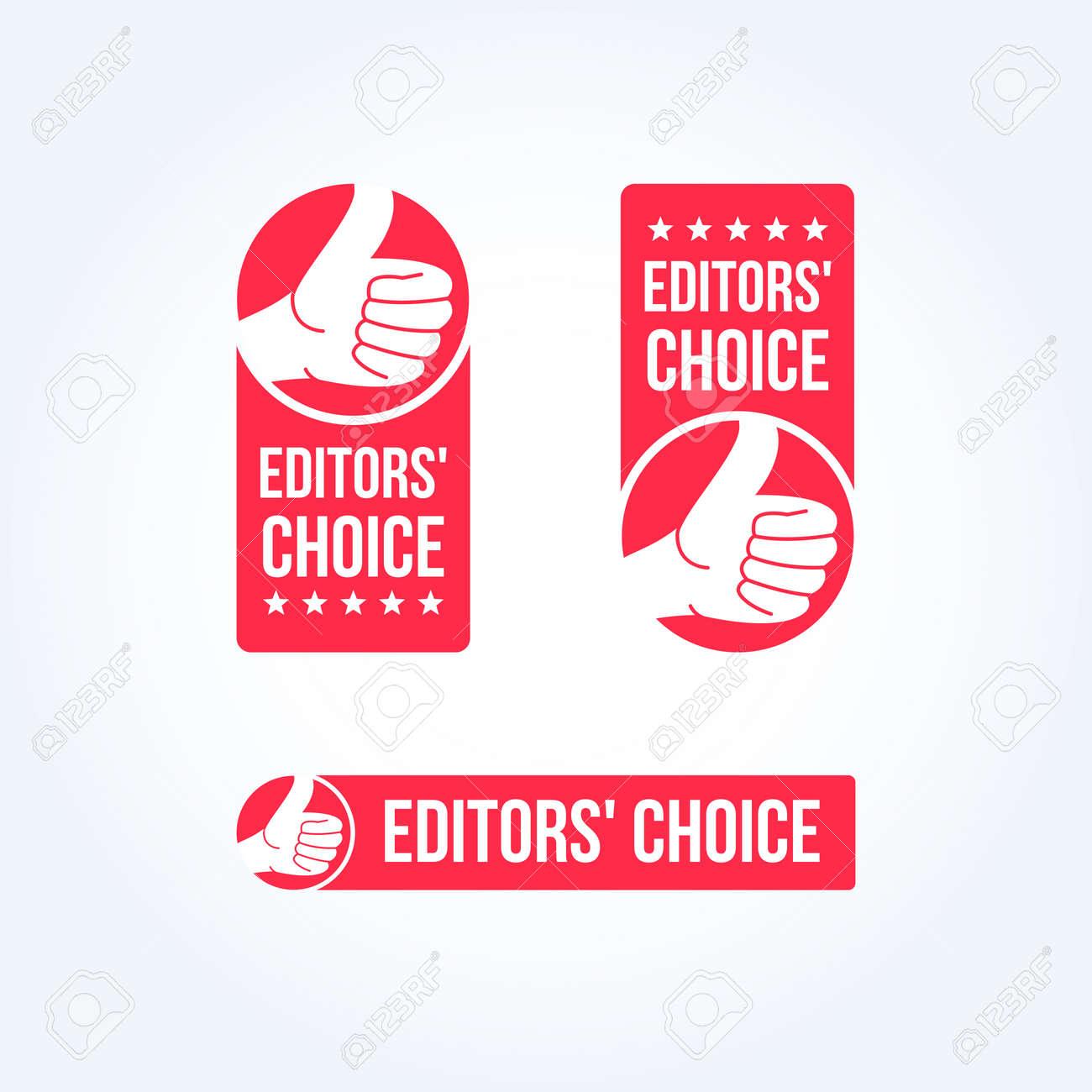 Editors' Choice Labels - 55387265