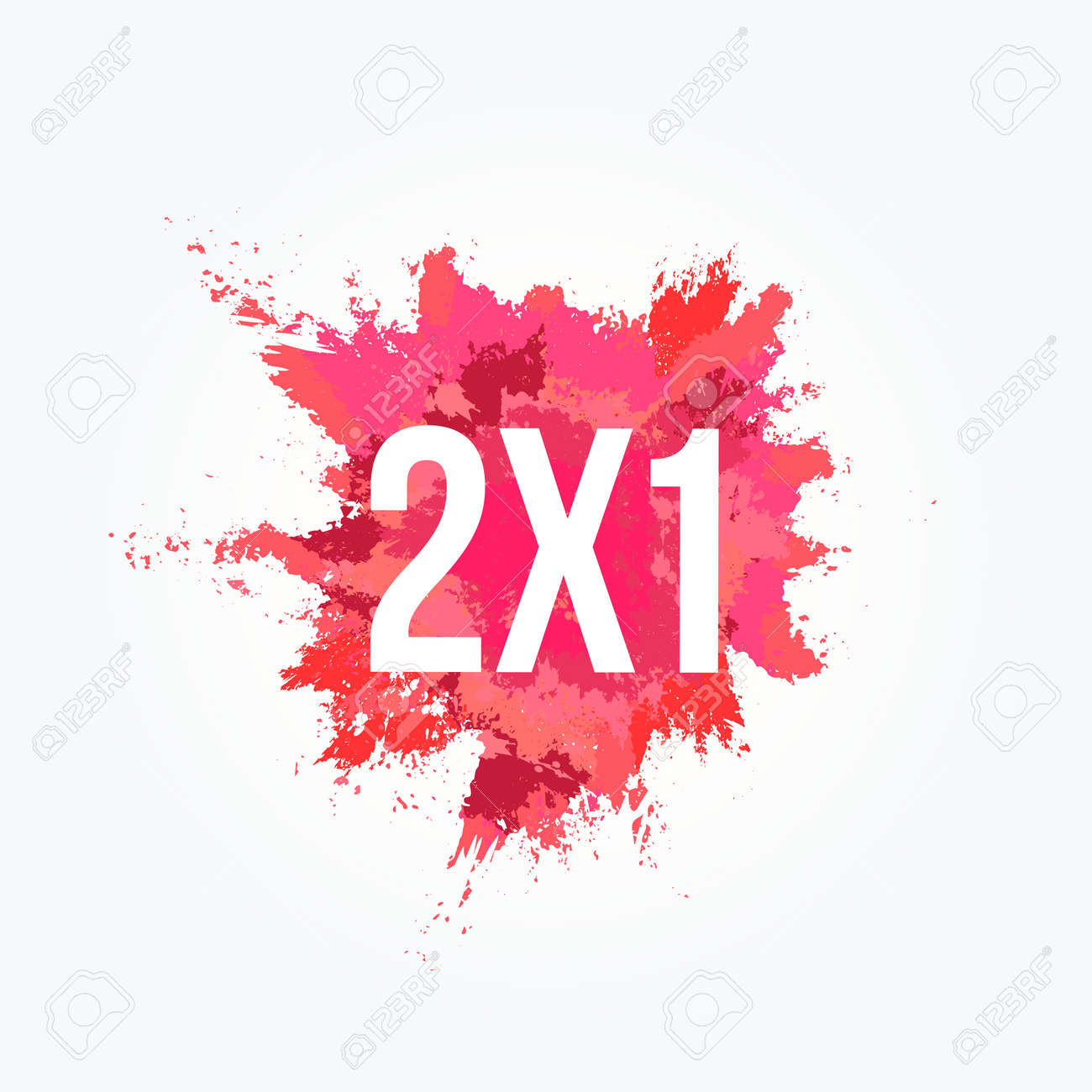 2x1 Powder Stain Commercial - 104573934