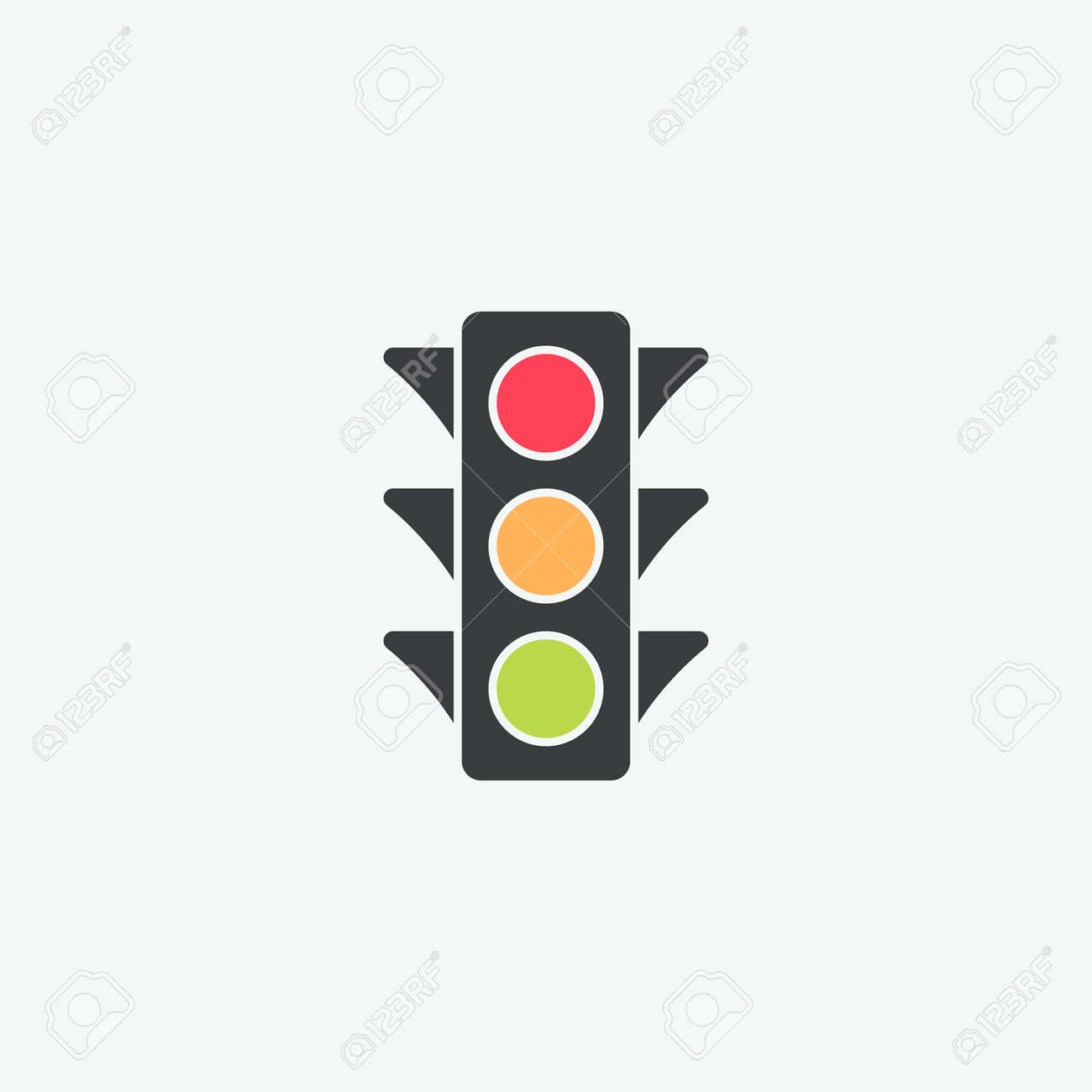 traffic light vector icon royalty free cliparts vectors and stock illustration image 110231335 traffic light vector icon