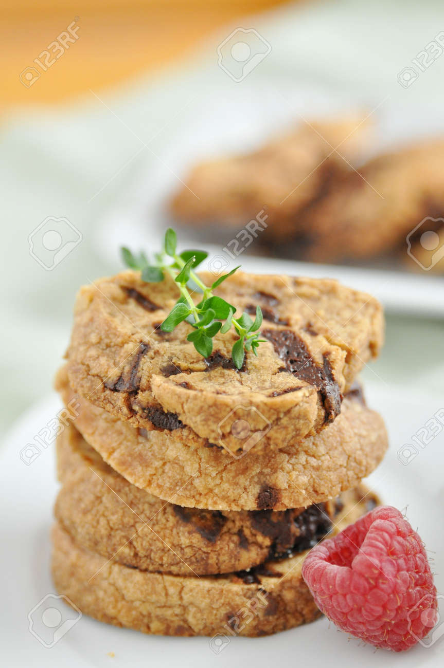 Chocolate Chip Cookies Stock Photo - 19396062