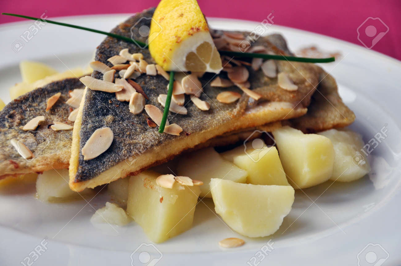 Trout fillets with potatoes Stock Photo - 20272776