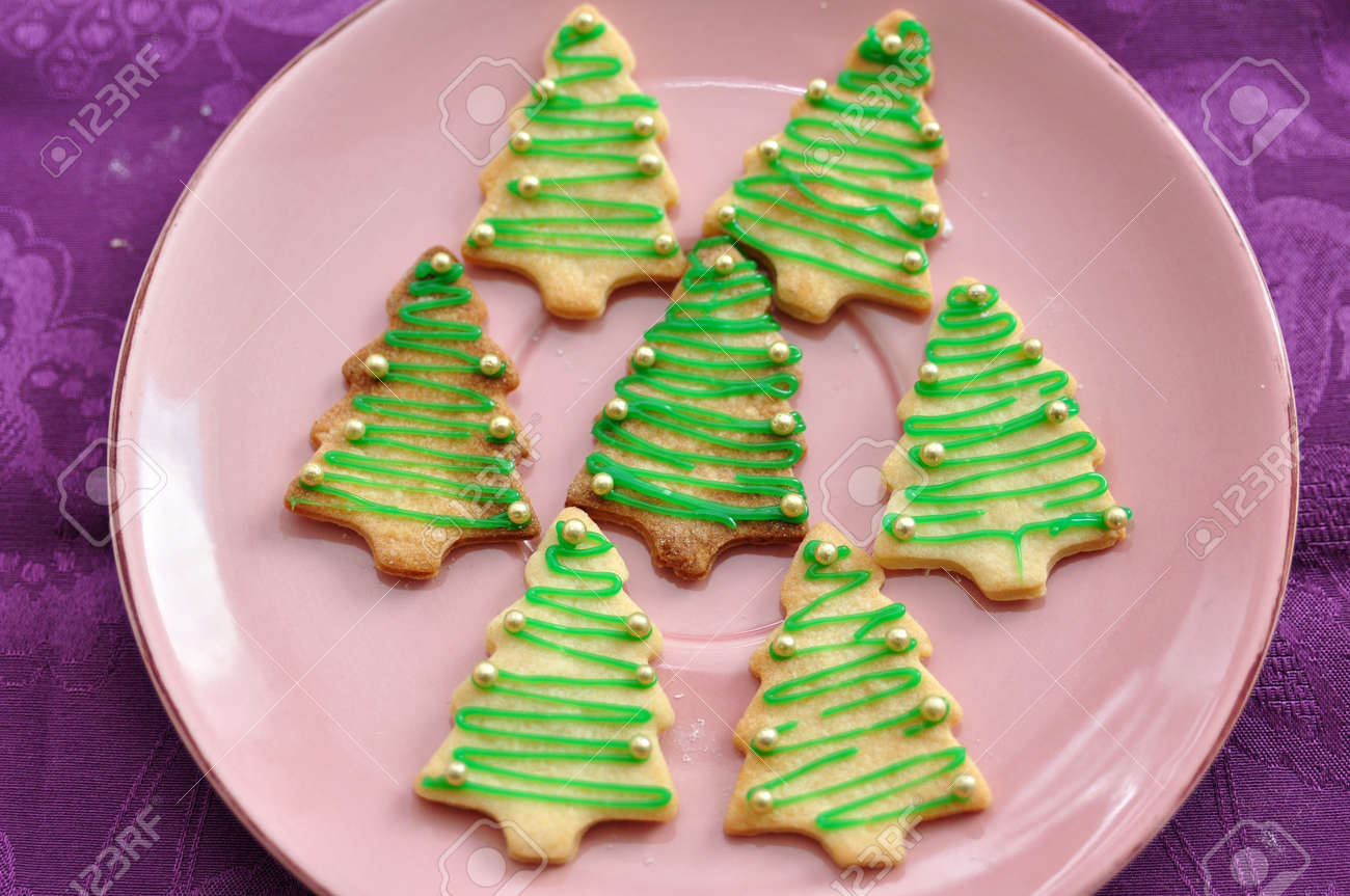 Christmas Tree Cookies Stock Photo Picture And Royalty Free Image Image 22039268