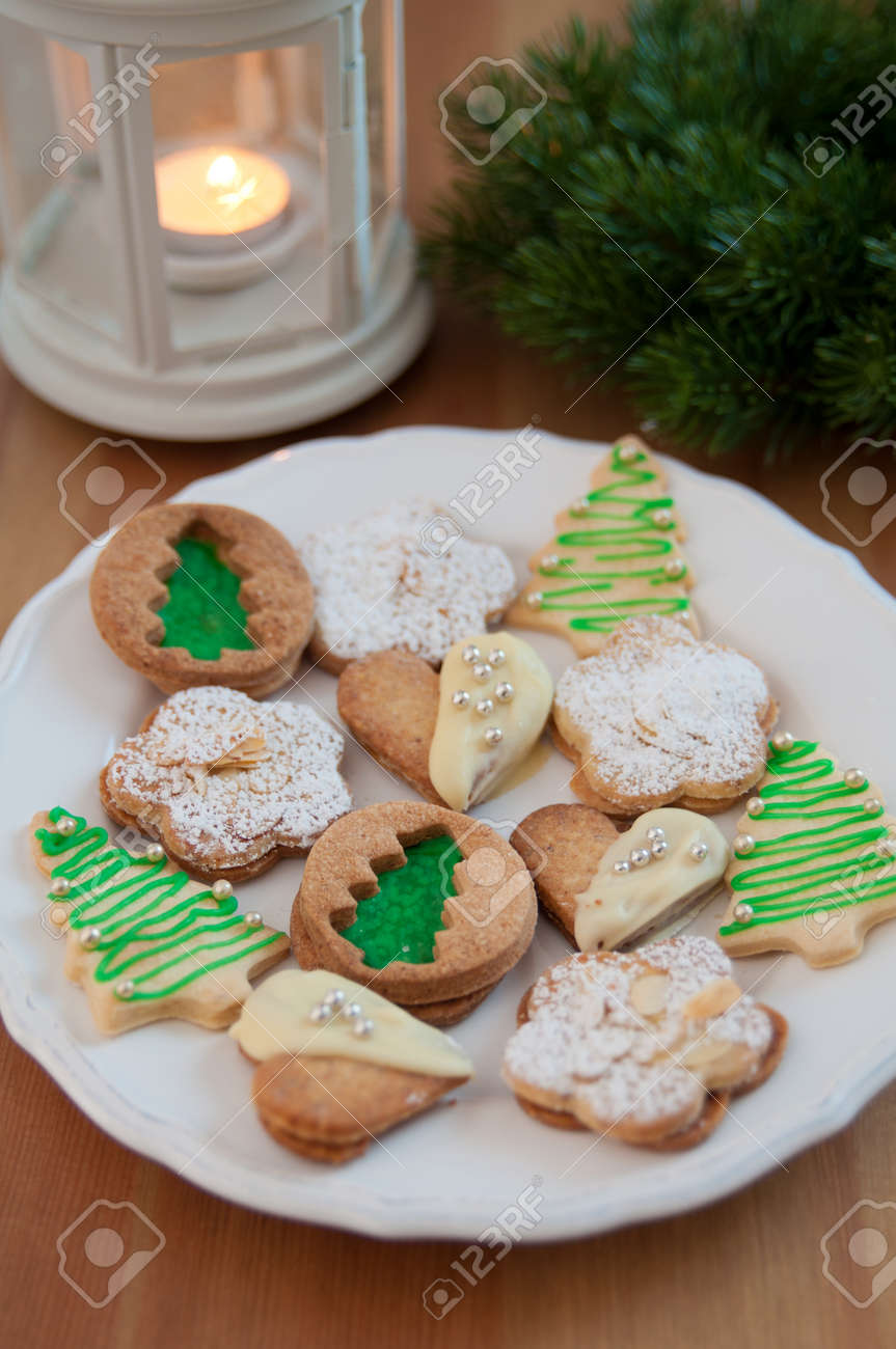 Traditional German Christmas Cookies Stock Photo - 24139329