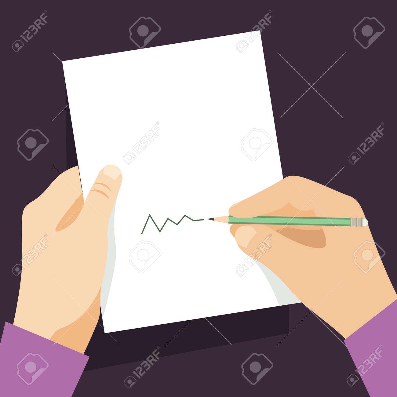 Signos Hombre Documento Mango Pone Su Firma Estilo De Dibujos ...