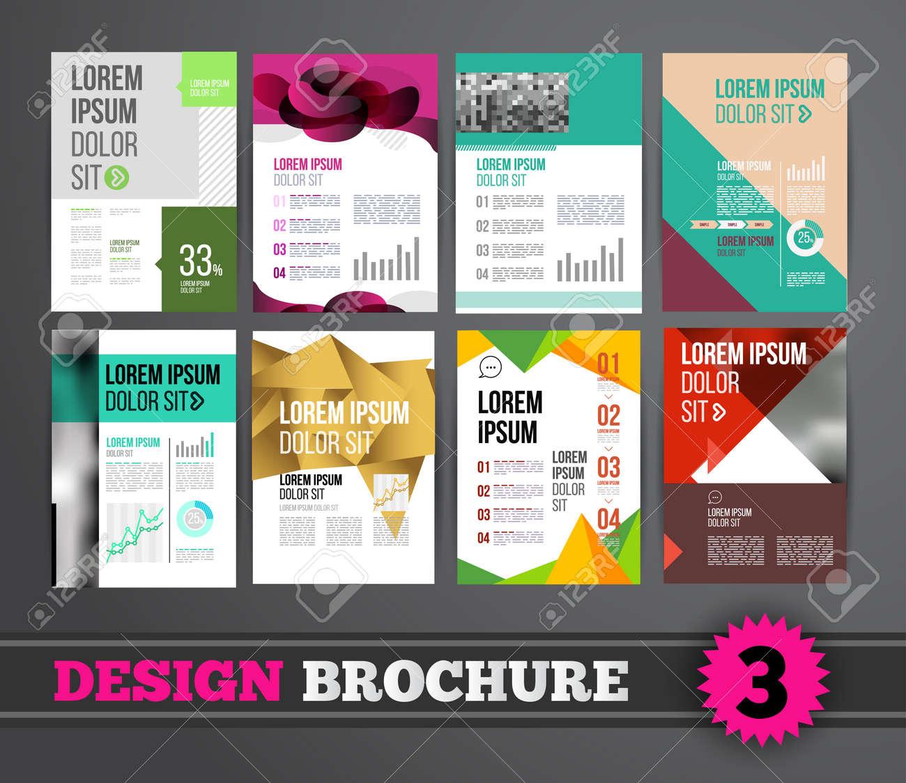 Vector design brochure template for business flyer or presentation vector vector design brochure template for business flyer or presentation trend design mega set fbccfo Image collections