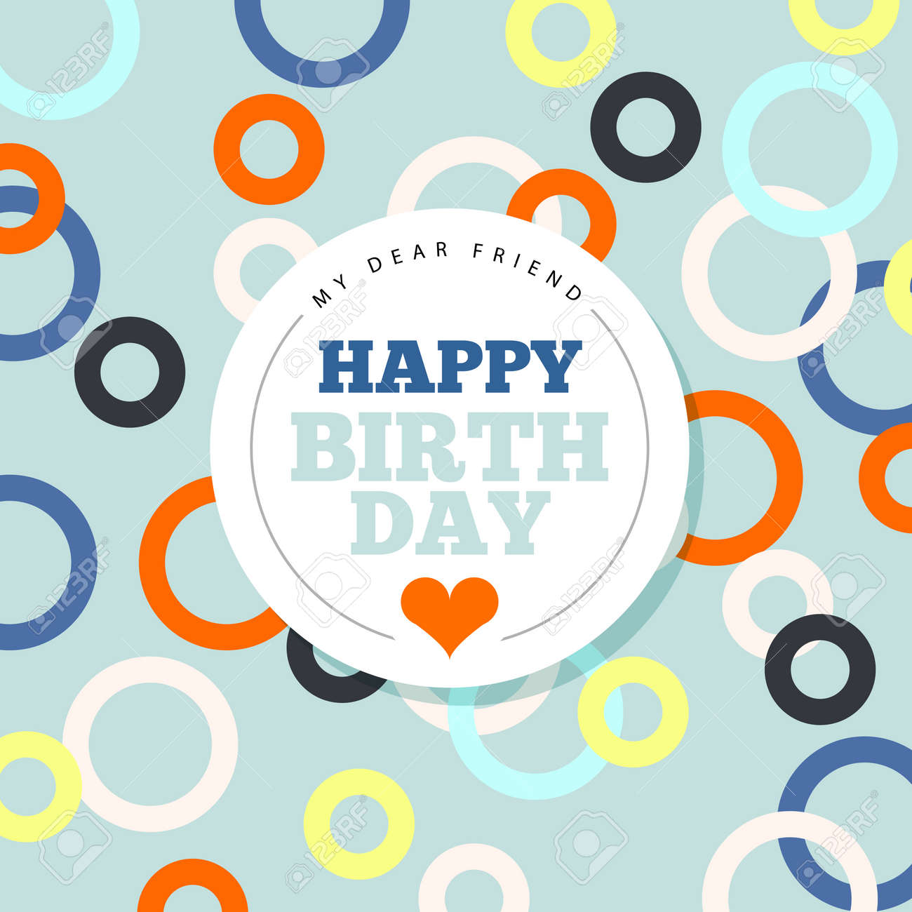 Background With Happy Birthday Typography Invite Birthday Card – Invite Birthday Card