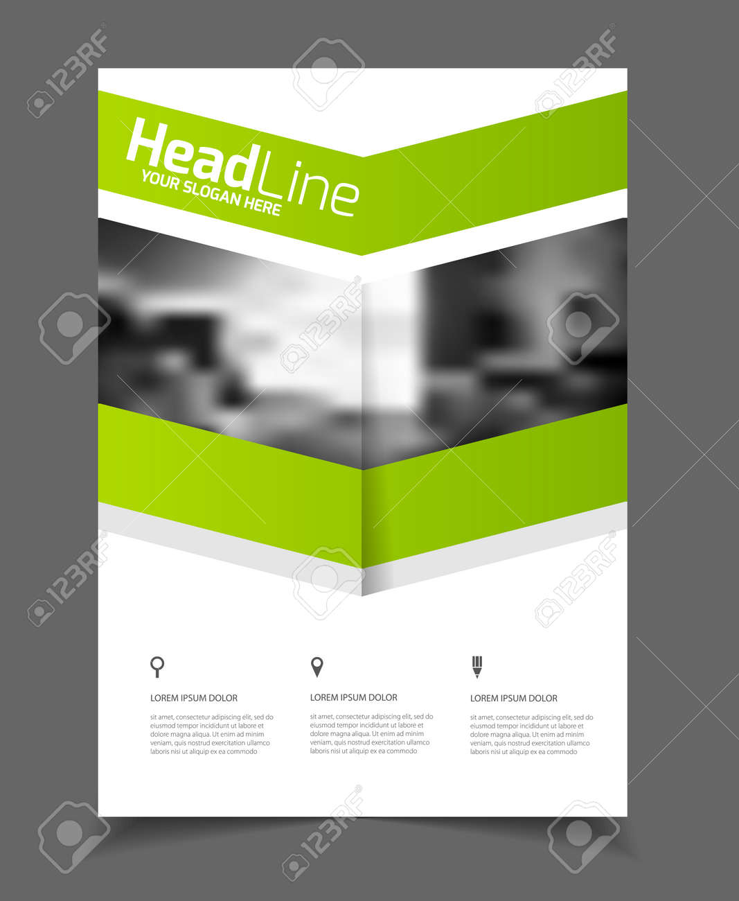 abstract business flyer design vector template in a size abstract business flyer design vector template in a4 size document or book cover annual