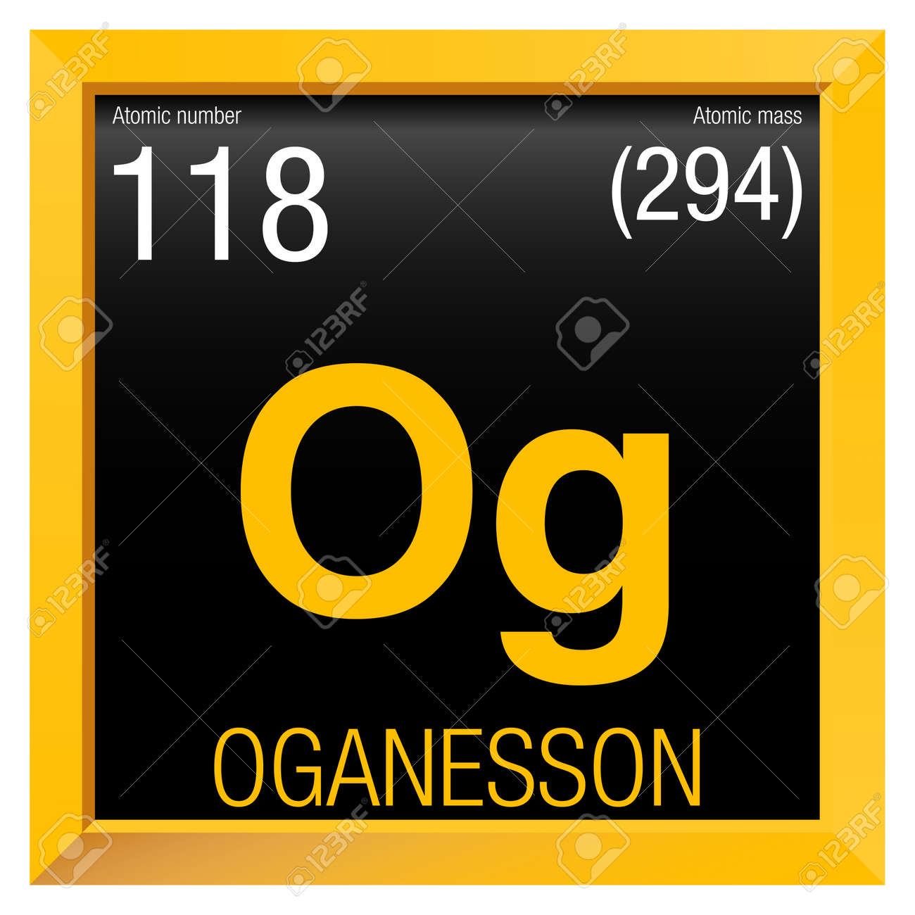 Oganesson symbol element number 118 of the periodic table of oganesson symbol element number 118 of the periodic table of the elements chemistry urtaz Images