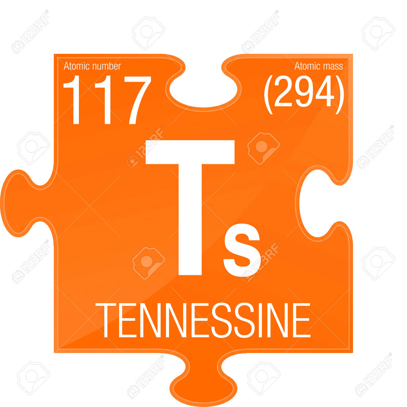 Tennessine symbol element number 117 of the periodic table of tennessine symbol element number 117 of the periodic table of the elements chemistry urtaz Images