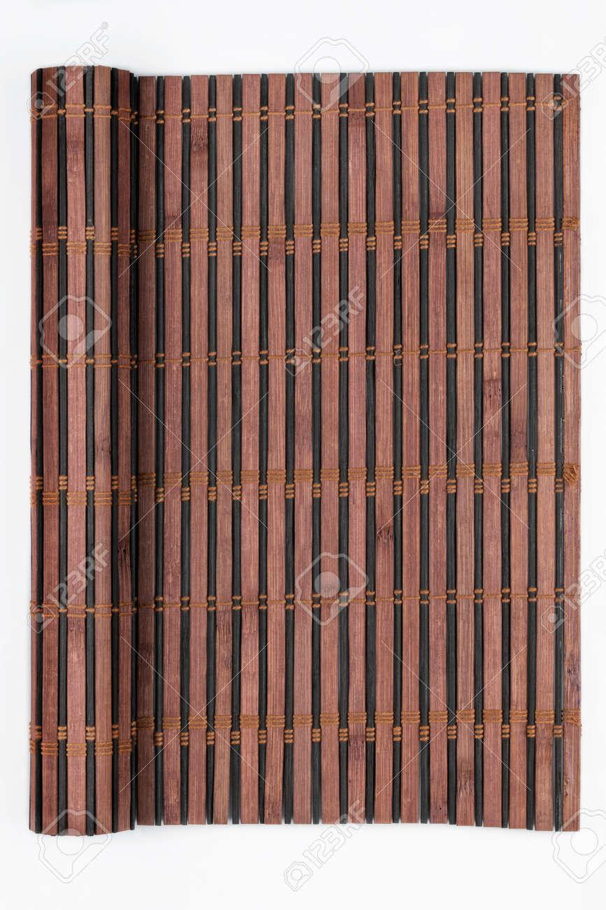 Rahmen Aus Bambus-Matte In Form Einer Schriftrolle, Manuskript, Auf ...