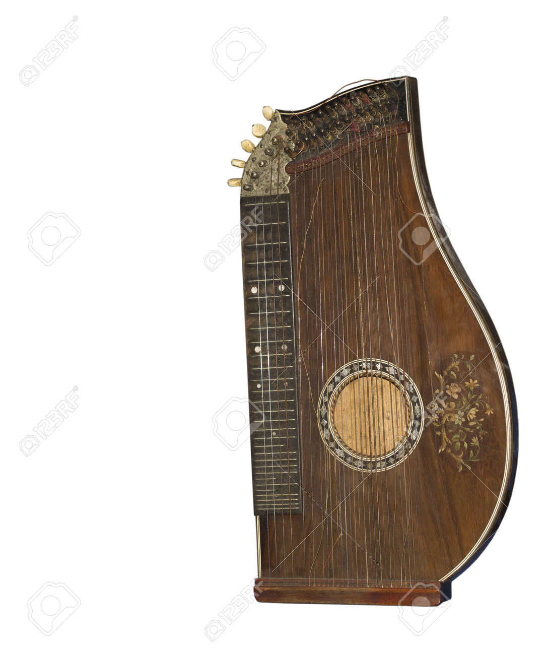 Zither-traditional A German Musical Instrument The Beginning ...