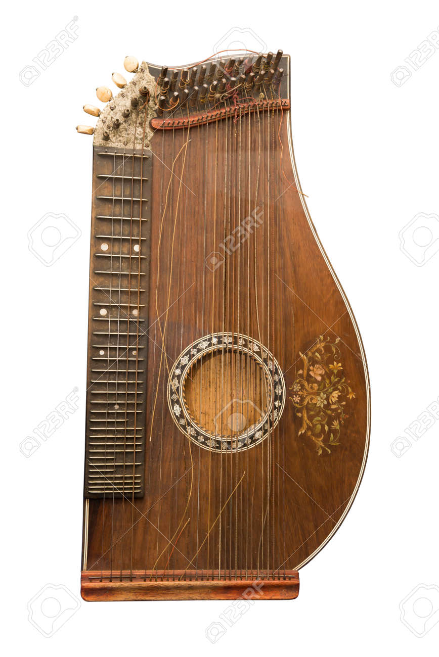 Zither-traditional A German Musical Instrument. The Beginning ...