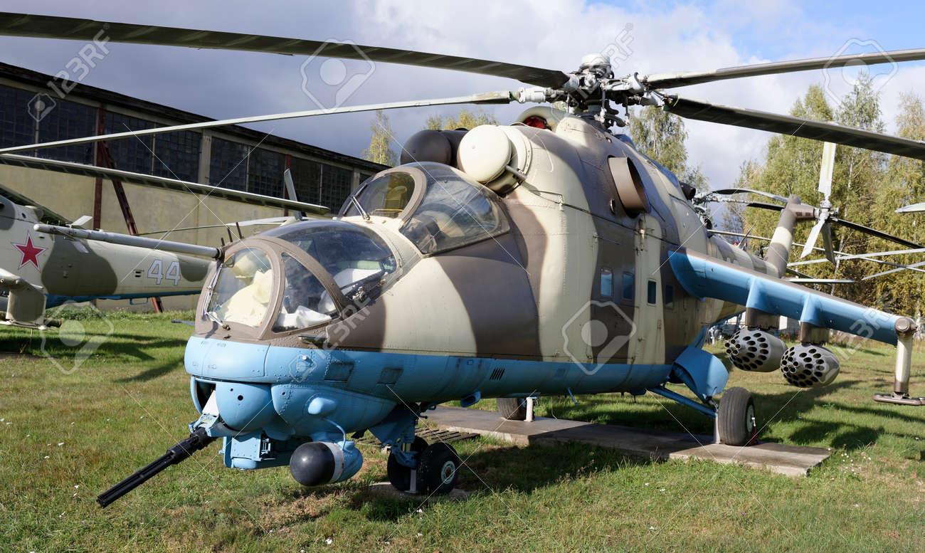 Km H Elicottero : Monino regione di mosca russia ottobre i v elicottero da