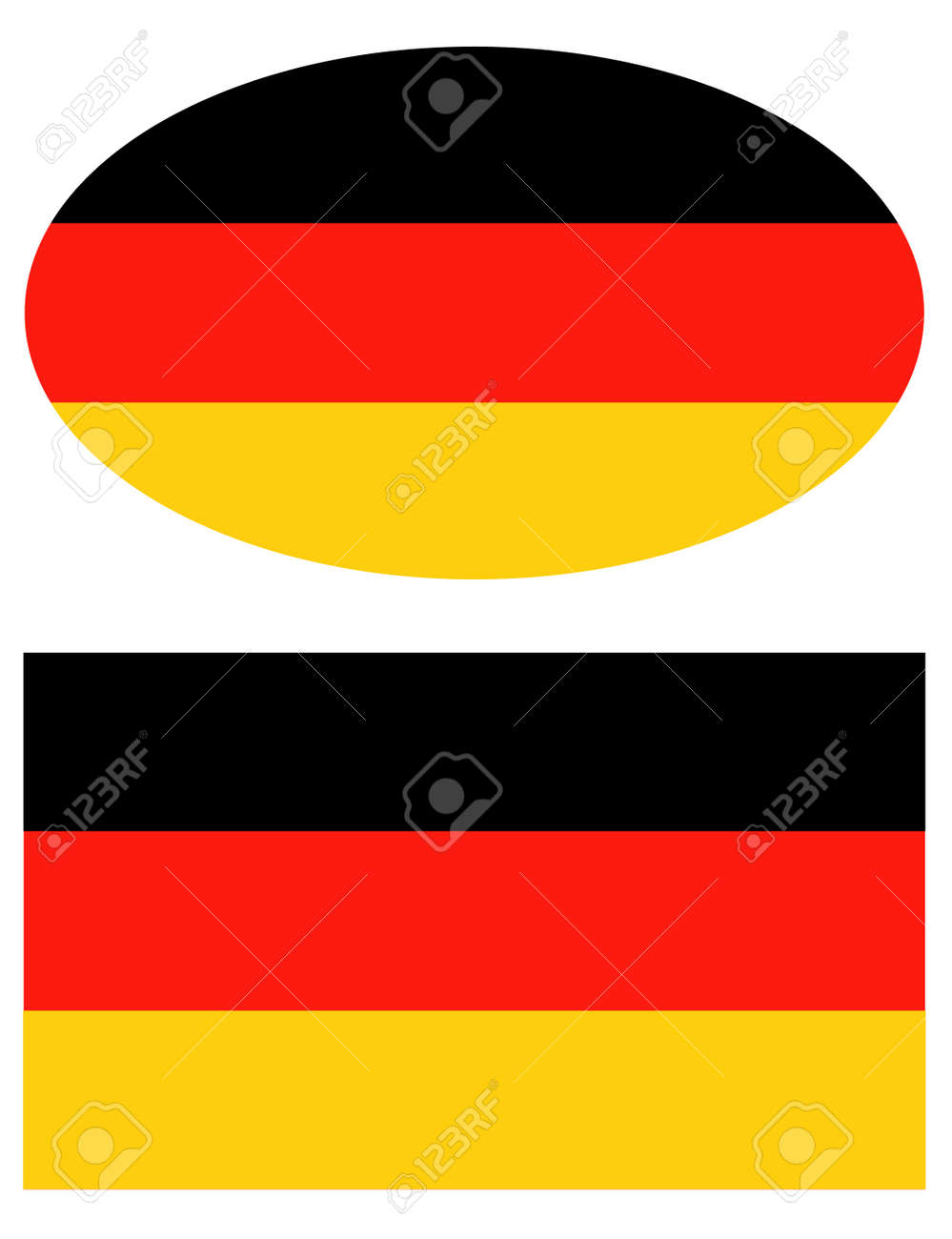 vector illustration of Germany flag - 143367223
