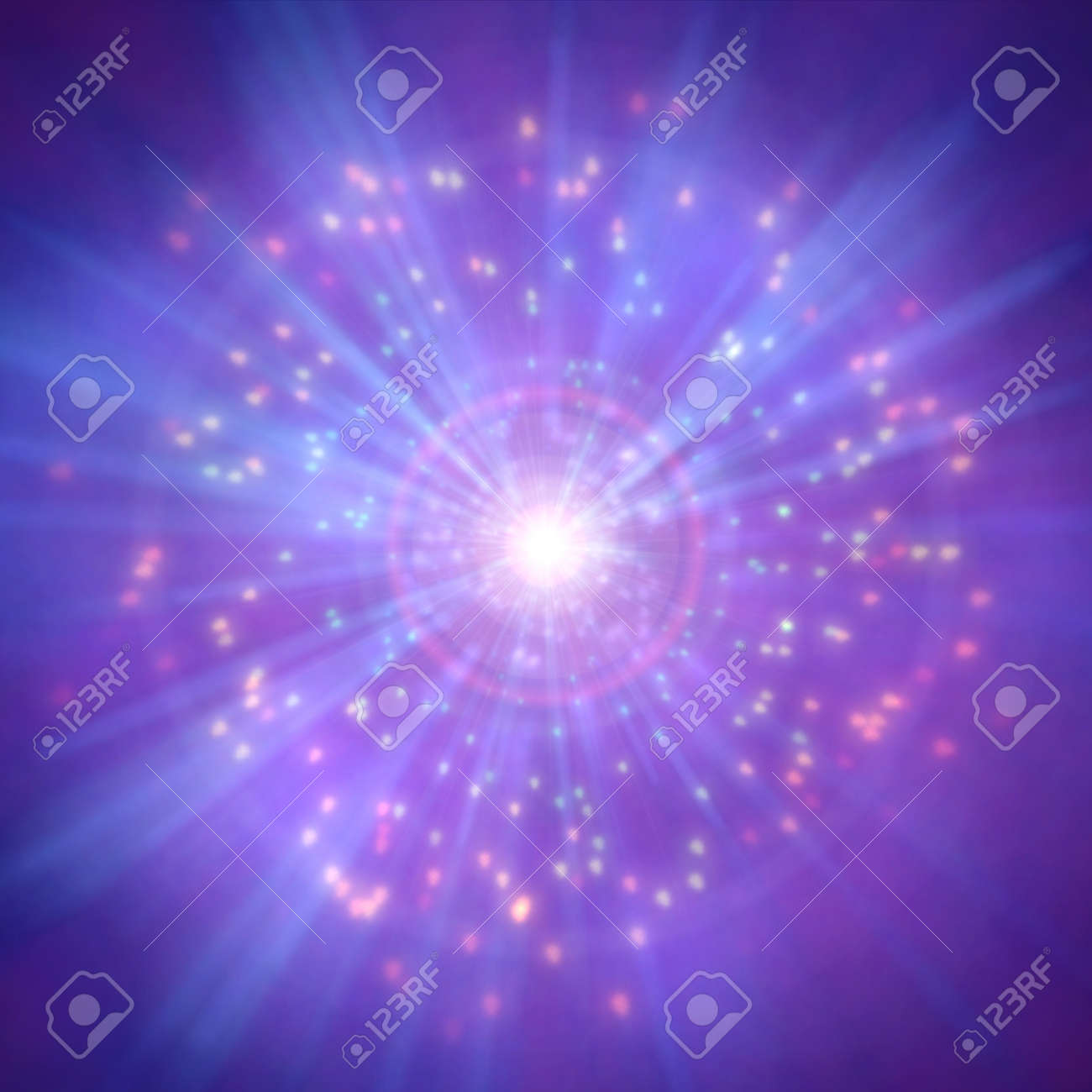 Space background realistic colorful cosmos, abstract background - 151298889