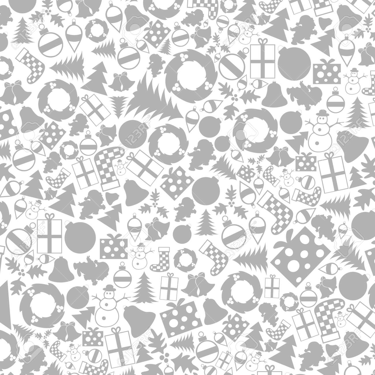 Background from Christmas subjects. Stock Vector - 16886029