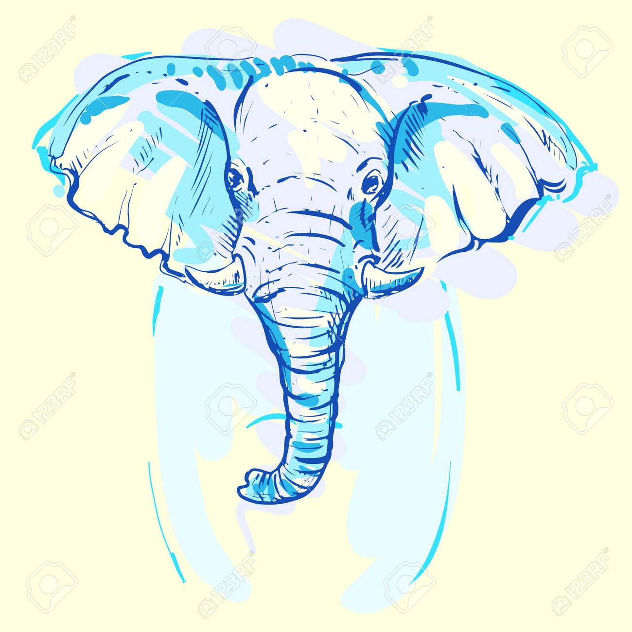 Fantástico Colorear Elmer The Elephant Motivo - Enmarcado Para ...