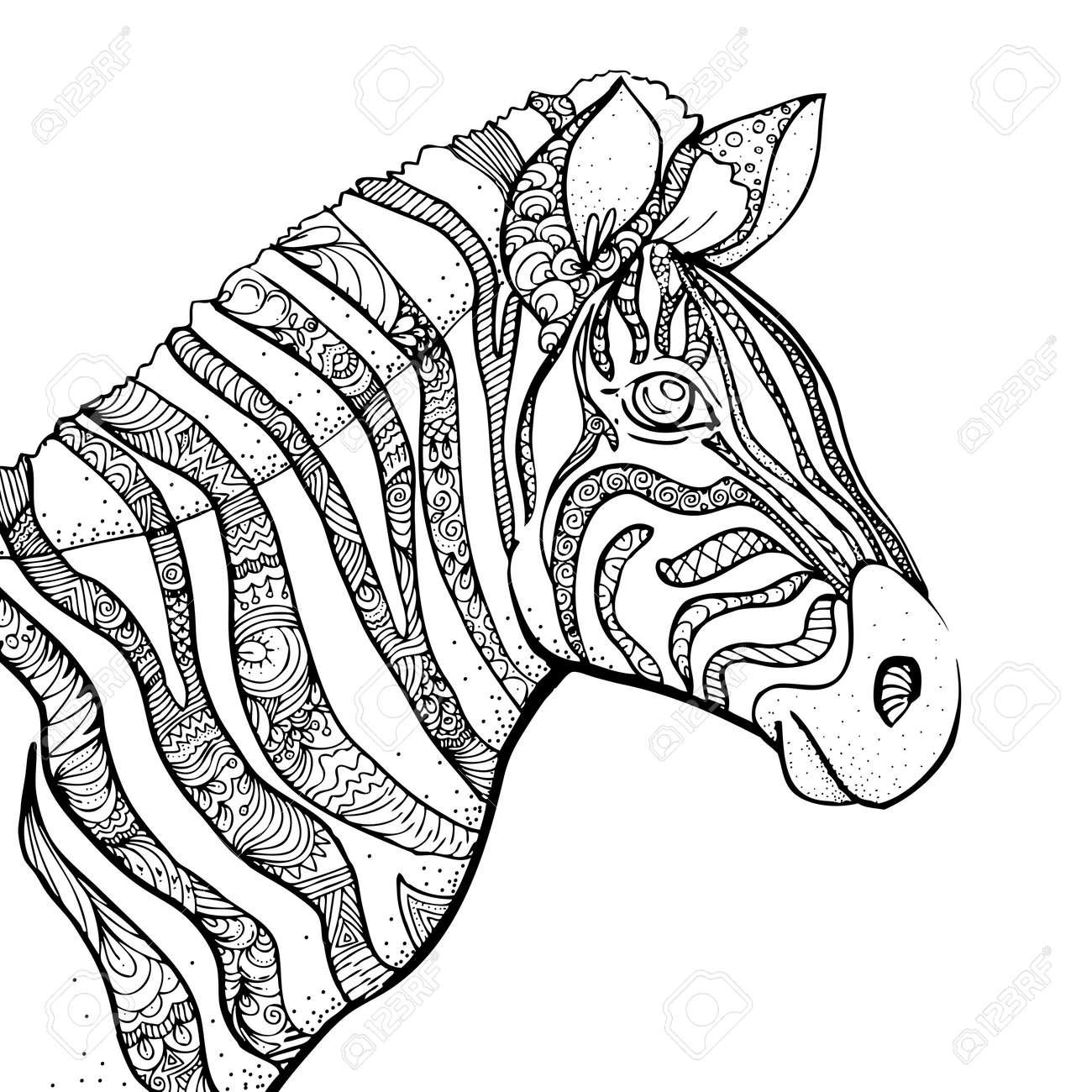 Tolle Zebra Druckvorlage Ideen - Beispiel Wiederaufnahme Vorlagen ...