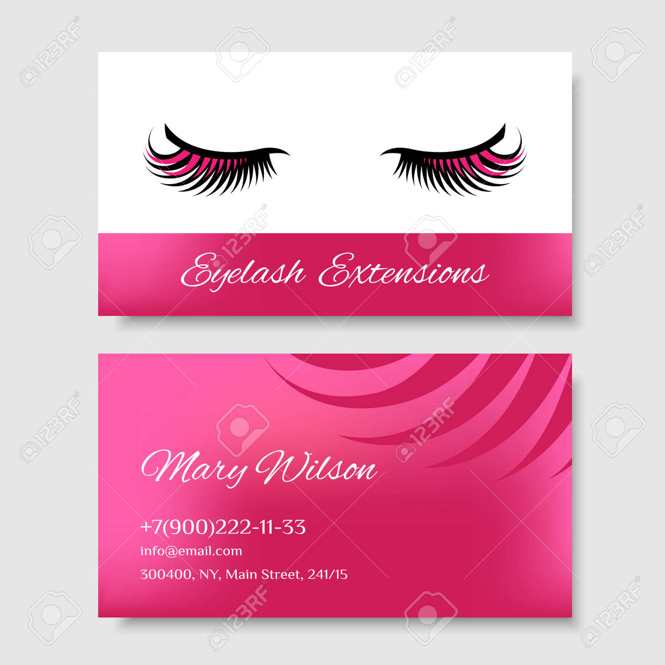 Branding For Salon Eyelash Extension Shop Cosmetic Products