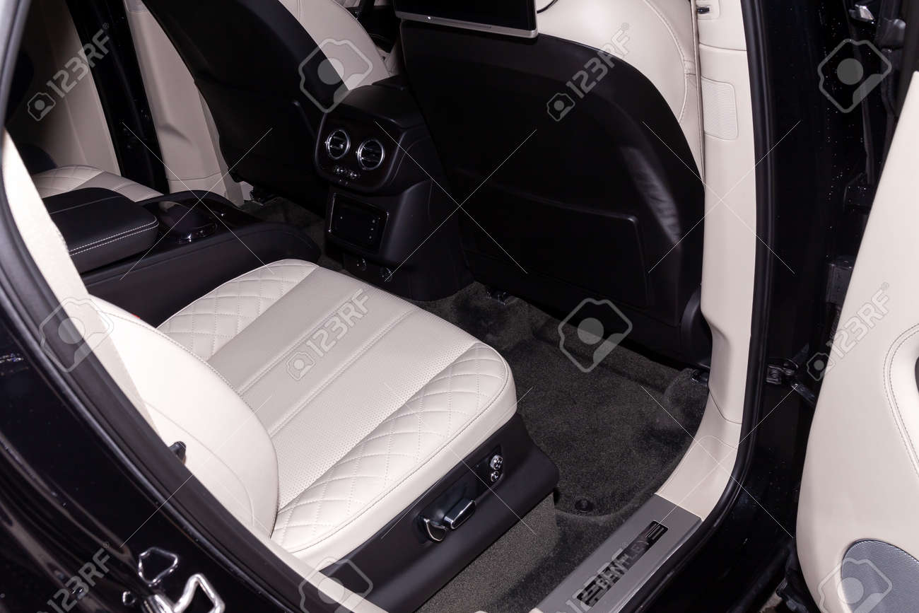 Novosibirsk Russia 08 01 18 Interior View With Rear Seat Stock Photo Picture And Royalty Free Image Image 138945027