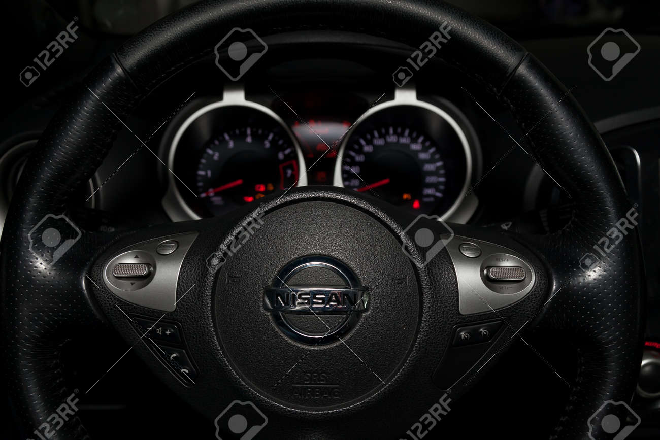 Novosibirsk Russia 02 05 2020 The Interior Of The Car Nissan Stock Photo Picture And Royalty Free Image Image 140057049