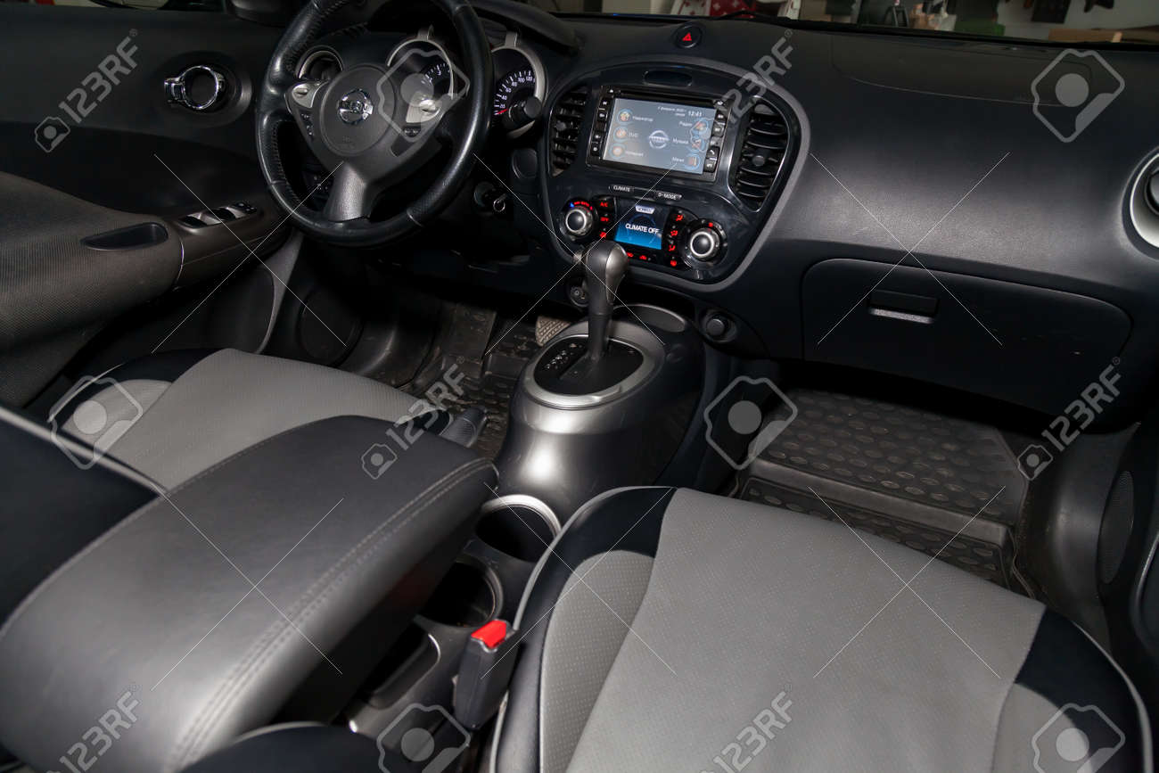 Novosibirsk Russia 02 05 2020 The Interior Of The Car Nissan Stock Photo Picture And Royalty Free Image Image 140057050