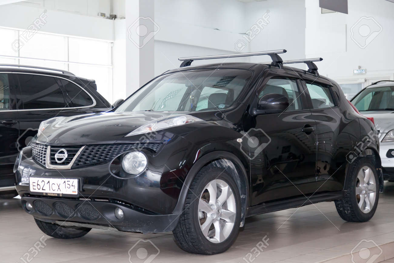 Novosibirsk Russia 02 05 2020 Black Used Nissan Juke With Stock Photo Picture And Royalty Free Image Image 140057053