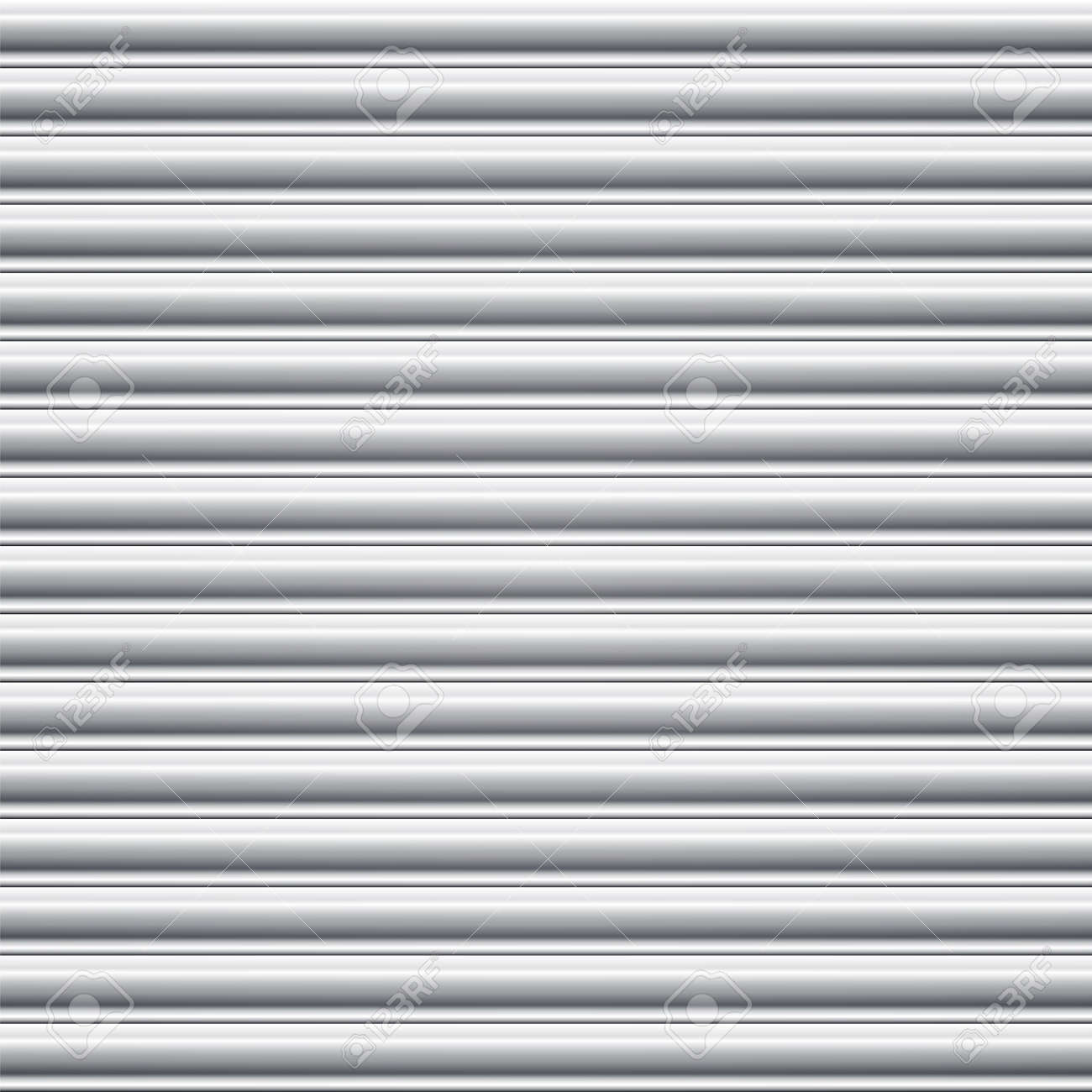 Steel door shutter  Seamless background Stock Vector - 24066739