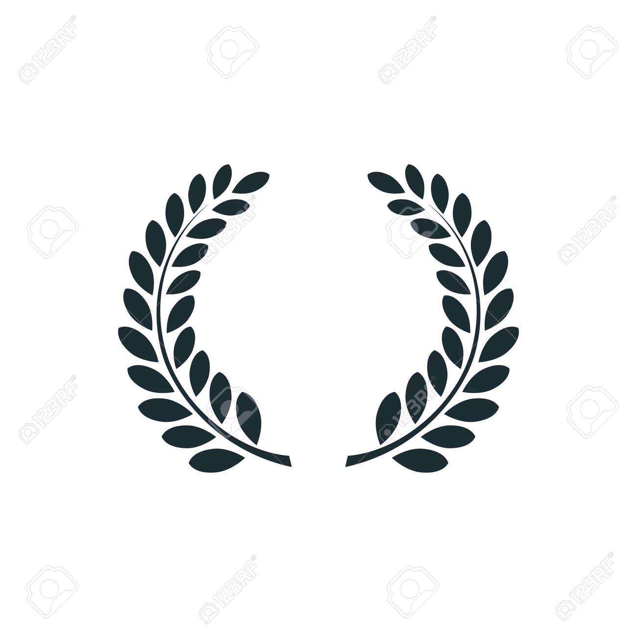 laurel wreath simple concept logo vector illustration royalty rh 123rf com logo vector file logo vector freepik