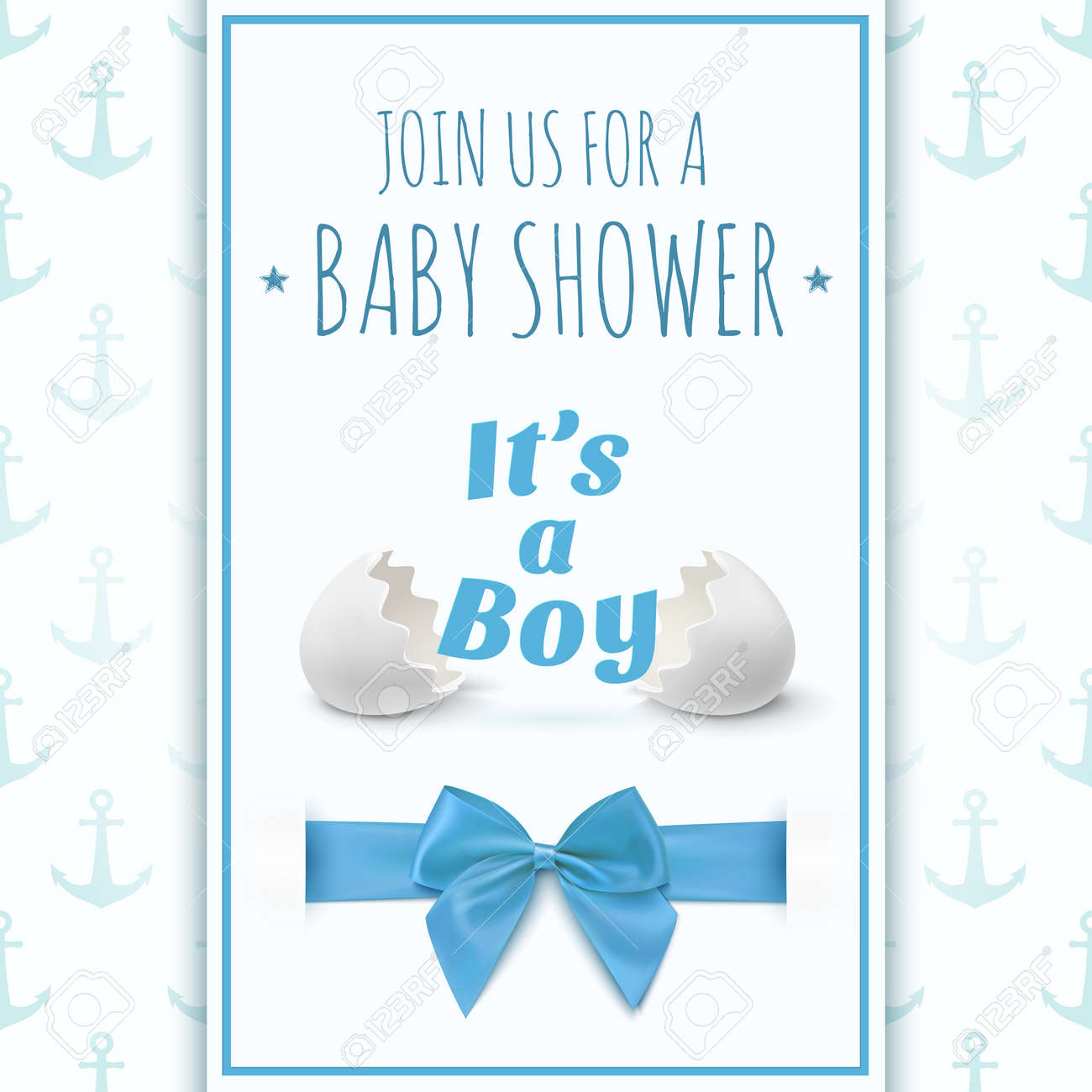 Baby shower greetings for a boy gallery baby showers decoration its a boy template for baby shower celebration or baby its a boy template for baby pronofoot35fo Gallery