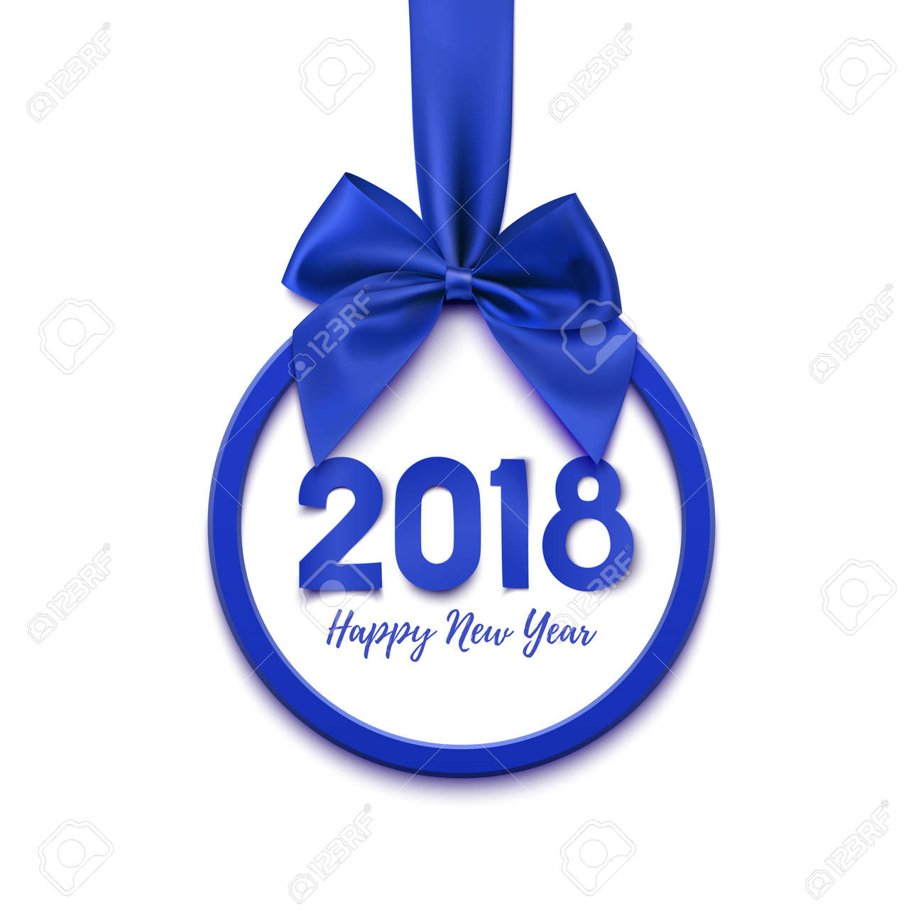 happy new year 2018 banner stock vector 74584336