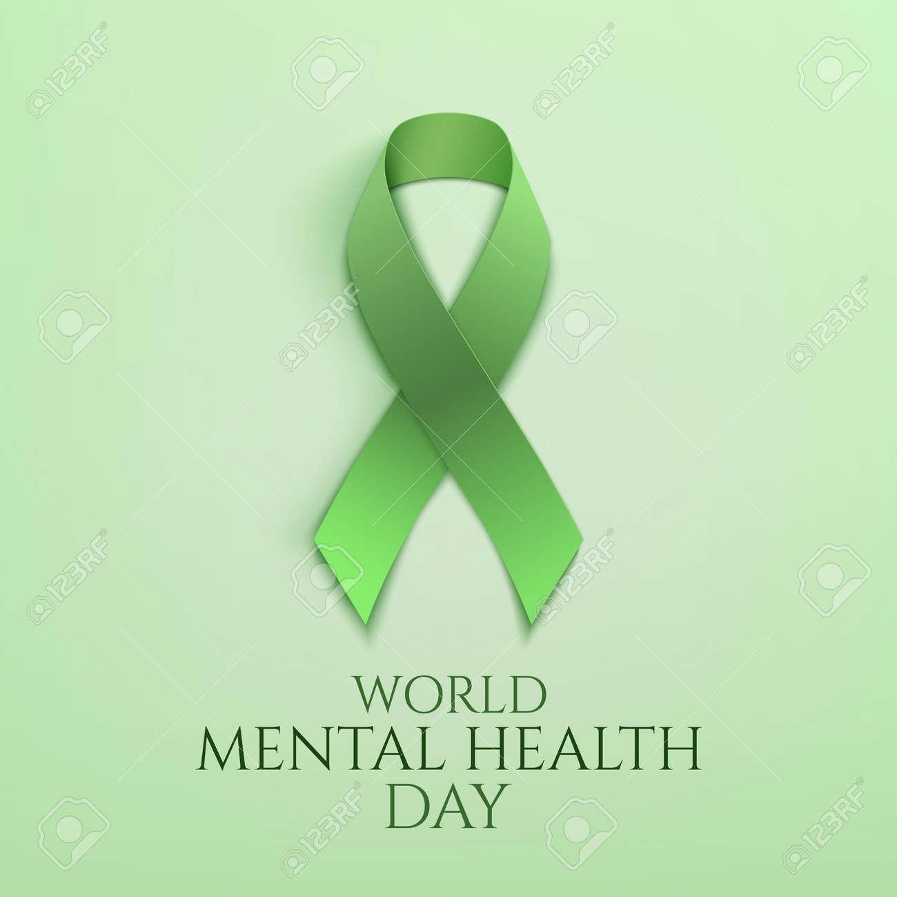 World mental health day background. - 85279194
