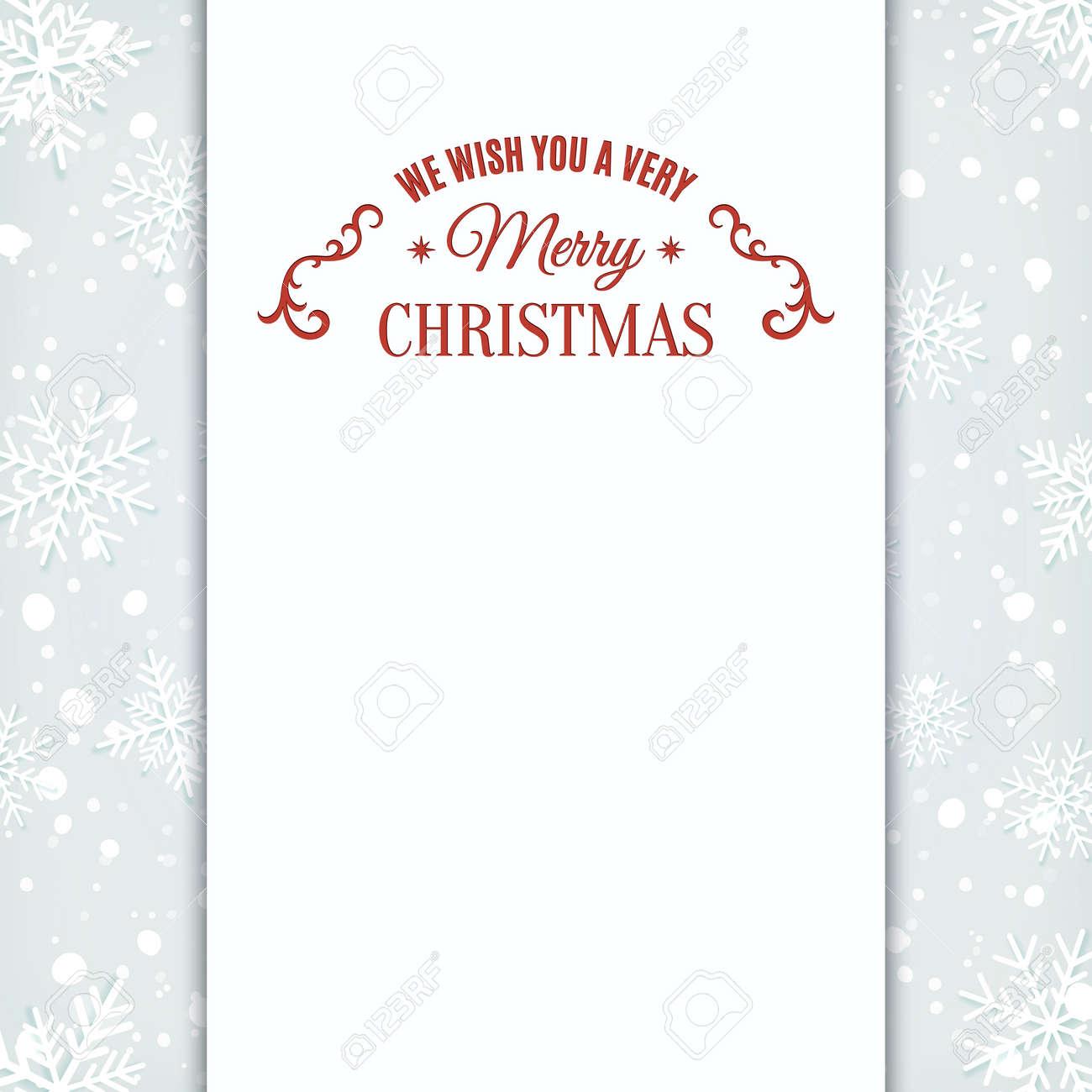 free snowflake invitation template