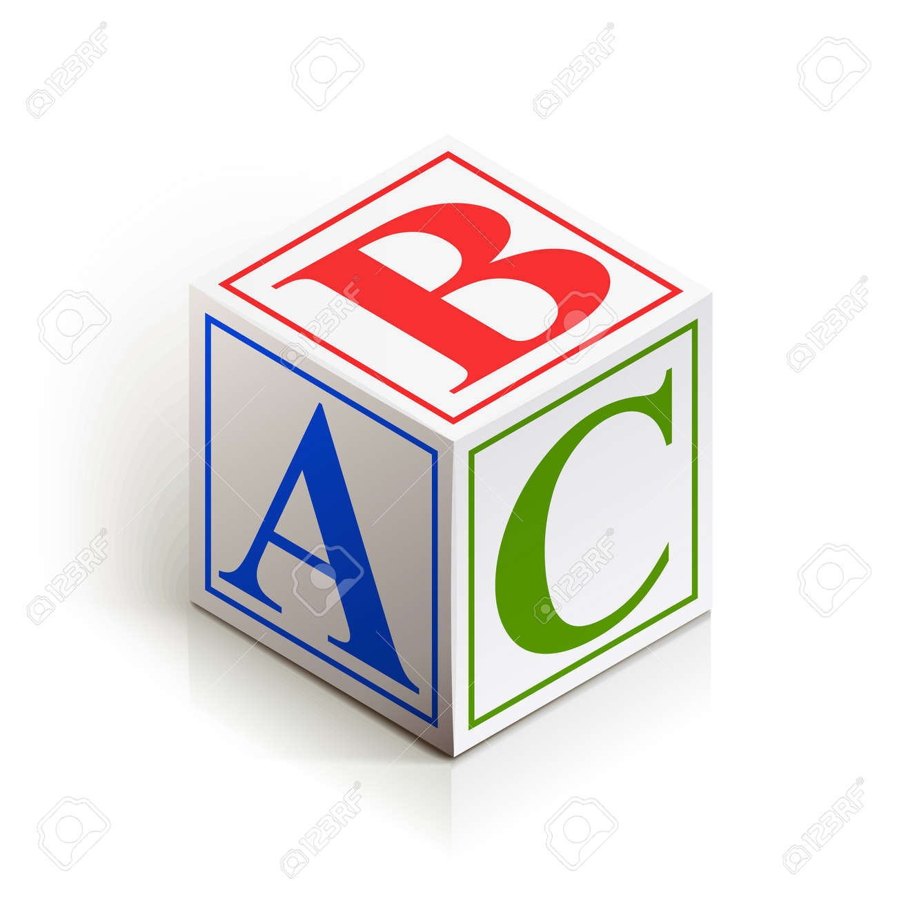 Abc Logo Transparent Vector - brick abc vector